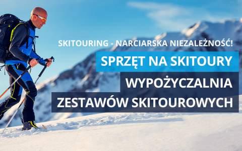 Narty skitourowe, buty skitourowe, kije i foki skitourowe - poznaj naszą ofertę!