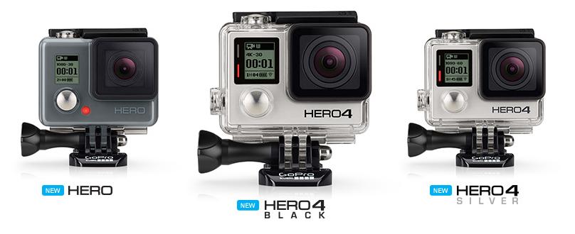 Najpopularniejsza na świecie kamera sportowa Go Pro ewoluuje!