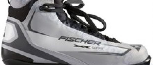 Buty i kijki do narciarstwa biegowego