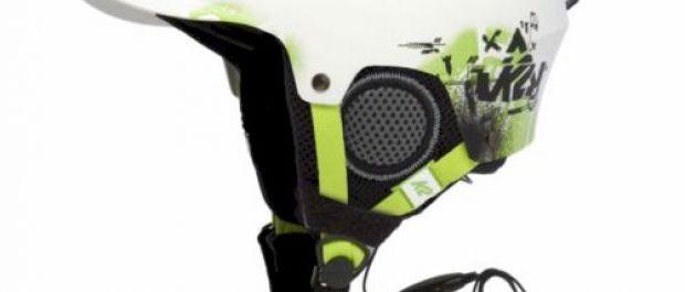 Kaski narciarsko-snowboardowe z systemem audio