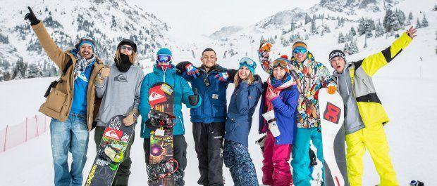Pierwszy sport zimowy - snowboard czy narty?