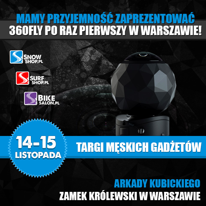 Kamera 360fly w Warszawie!