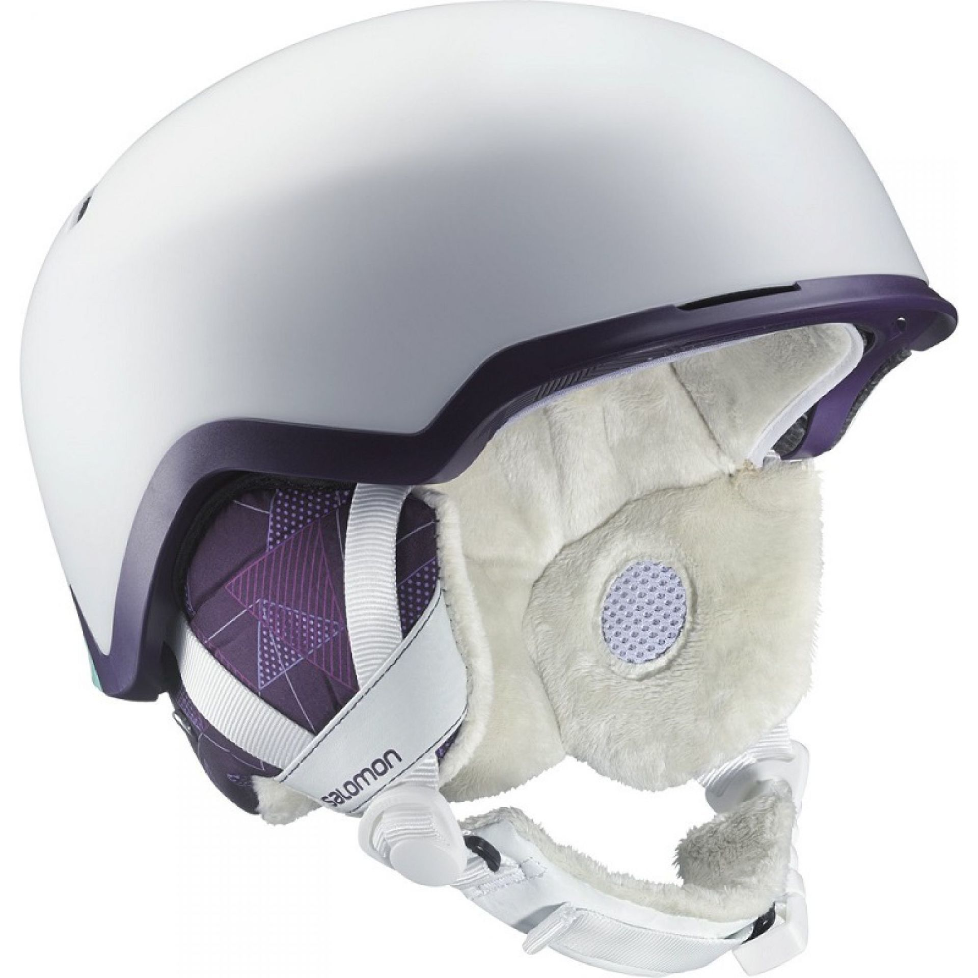 KASK SALOMON HIVA C.AIR WHITE MATT INDIGO
