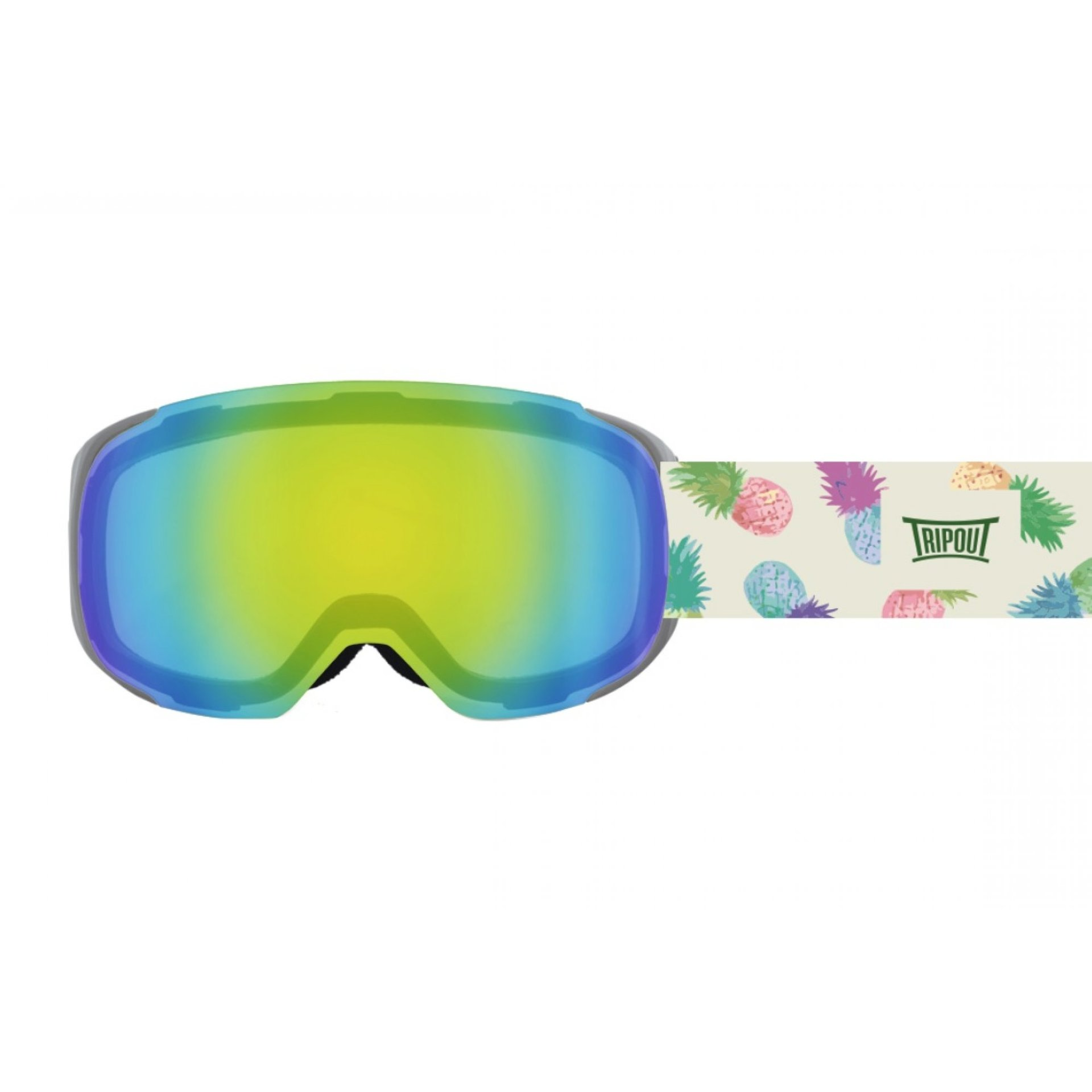 GOGLE TRIPOUT STEEZ PINEAPPLE|GREY|MINT MIRRORED 1