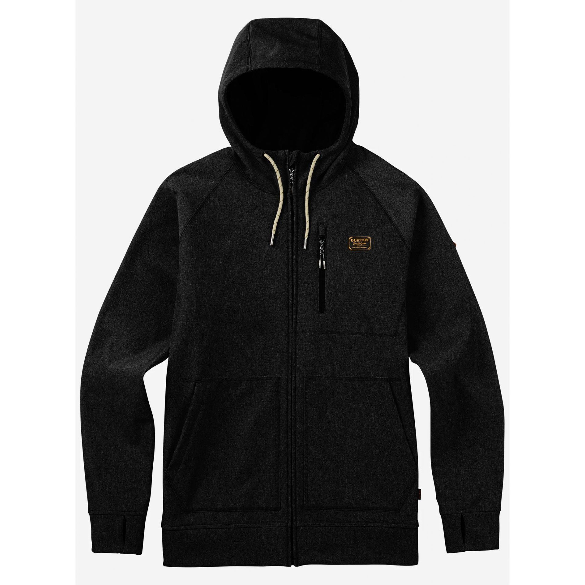BLUZA BURTON BONDED FULL-ZIP TRUE BLACK