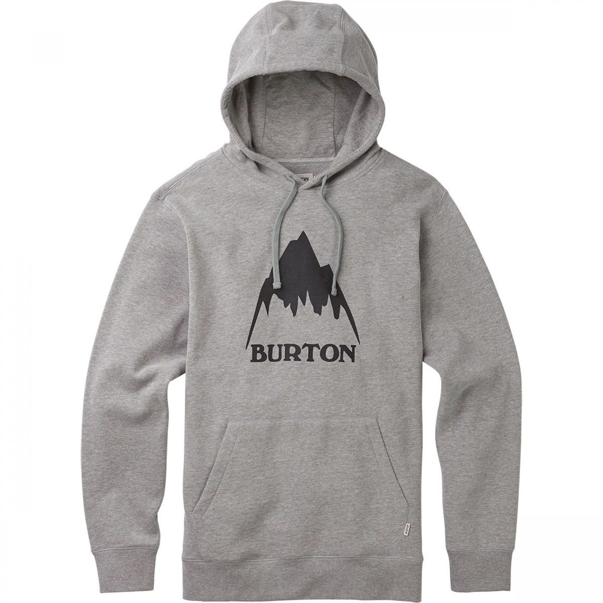 BLUZA BURTON CLASSIC MOUNTAIN PULLOVER GREY HEATHER 1