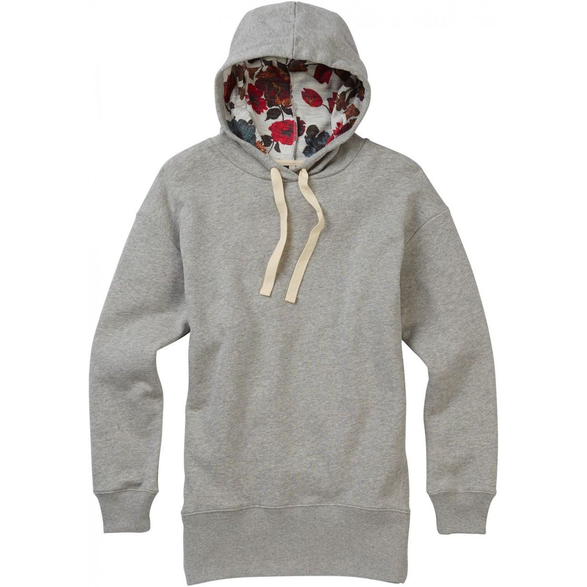 BLUZA BURTON FEARNOW PULLOVER GREY HEATHER