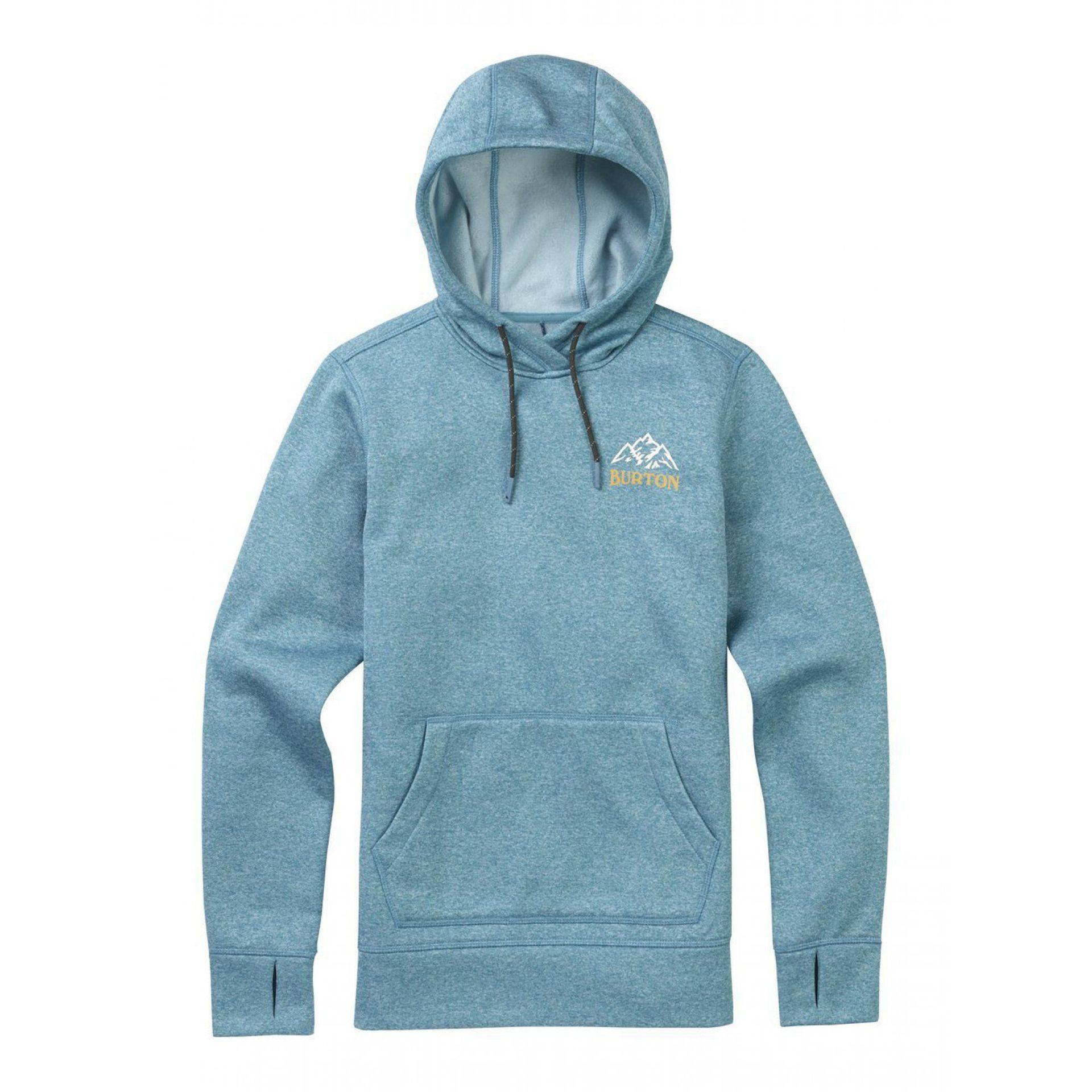 BLUZA BURTON OAK PULLOVER ADRIATIC HEATHER 1