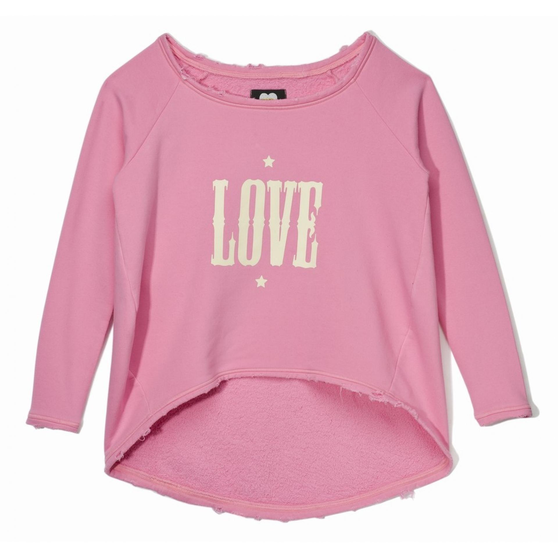 Bluza Femi Pleasure Love różowa