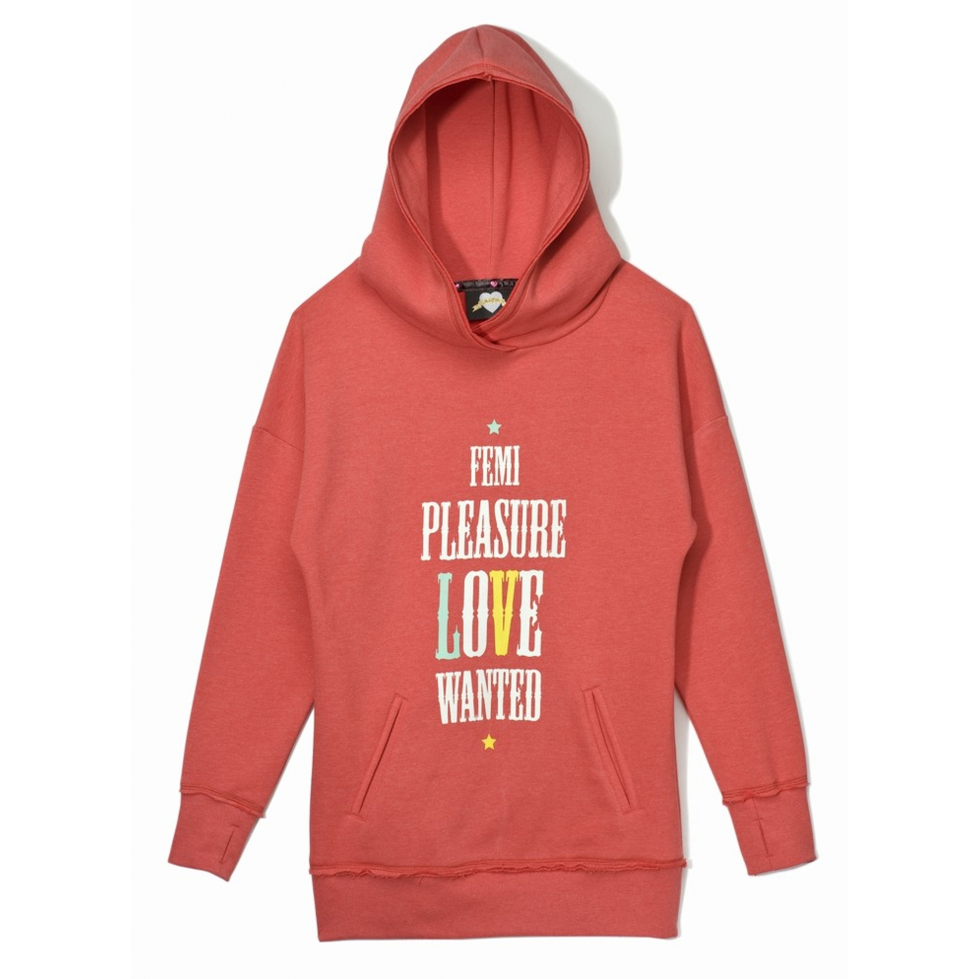 Bluza Femi Pleasure Wanted czerwona