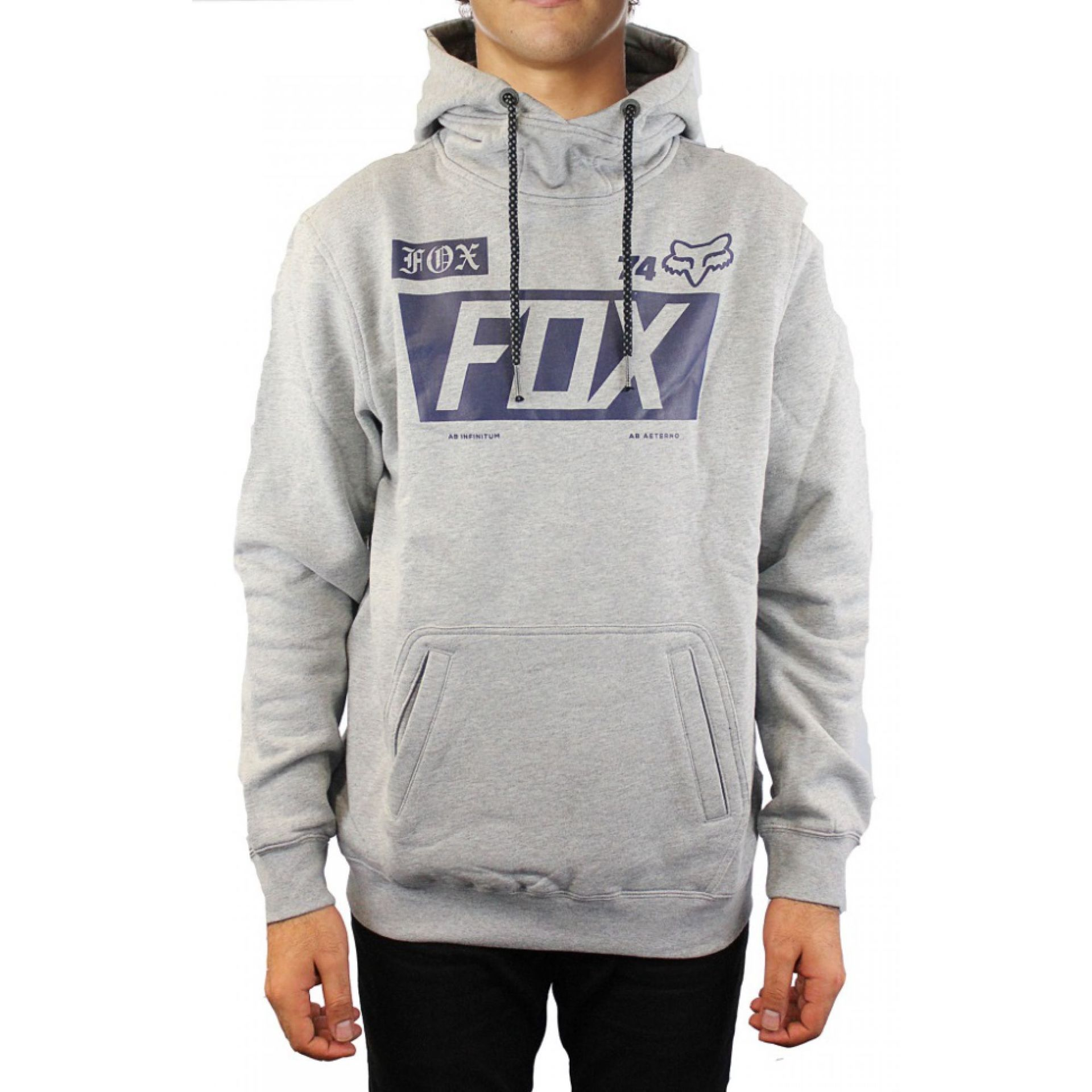BLUZA FOXHEAD UNION HEATHER GREY
