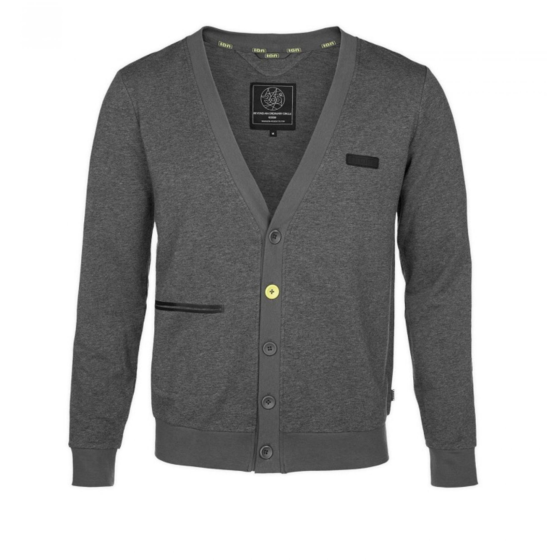 BLUZA ION SWEAT CARDIGAN ROY SZARY