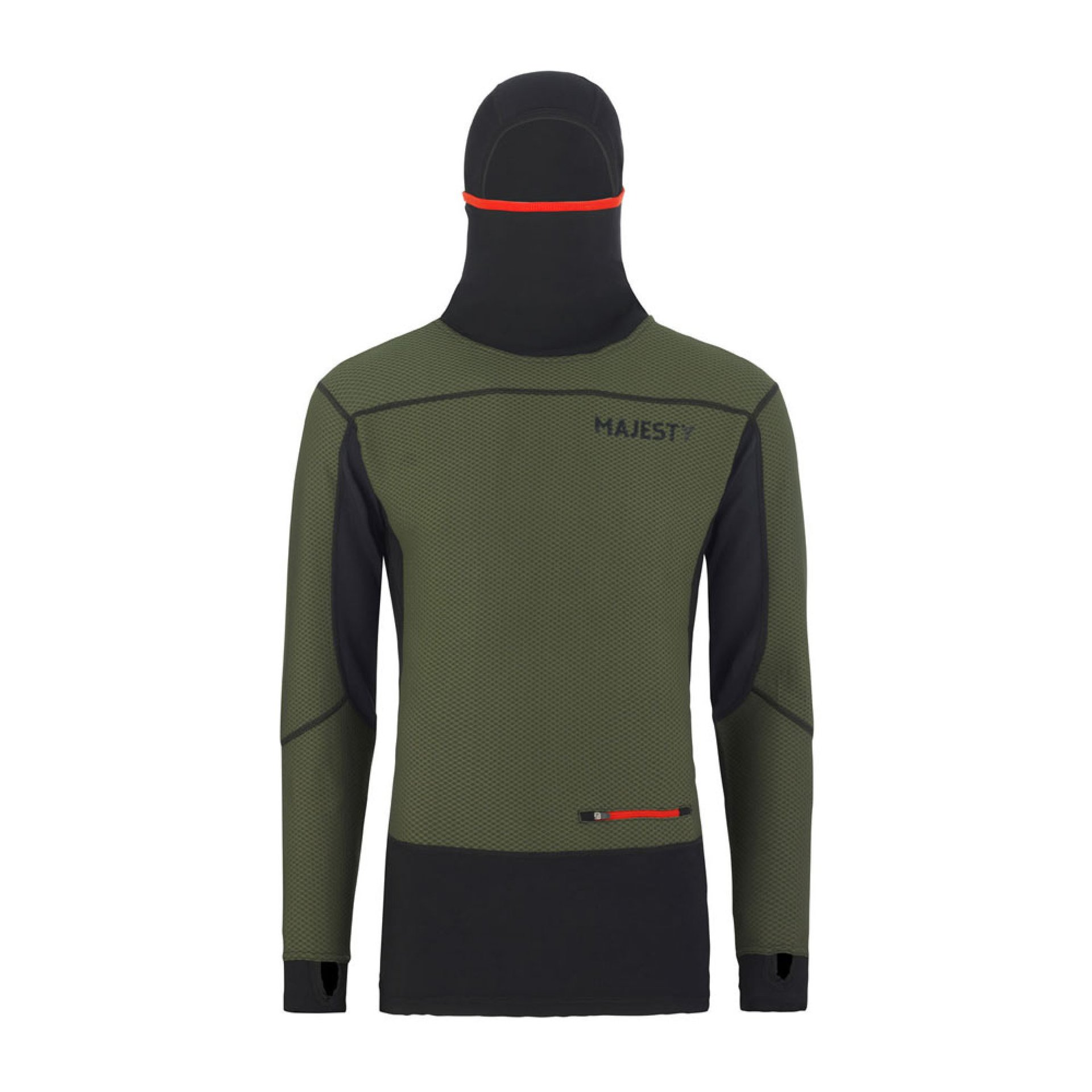 BLUZA MAJESTY HEATSHIELD ARMY GREEN