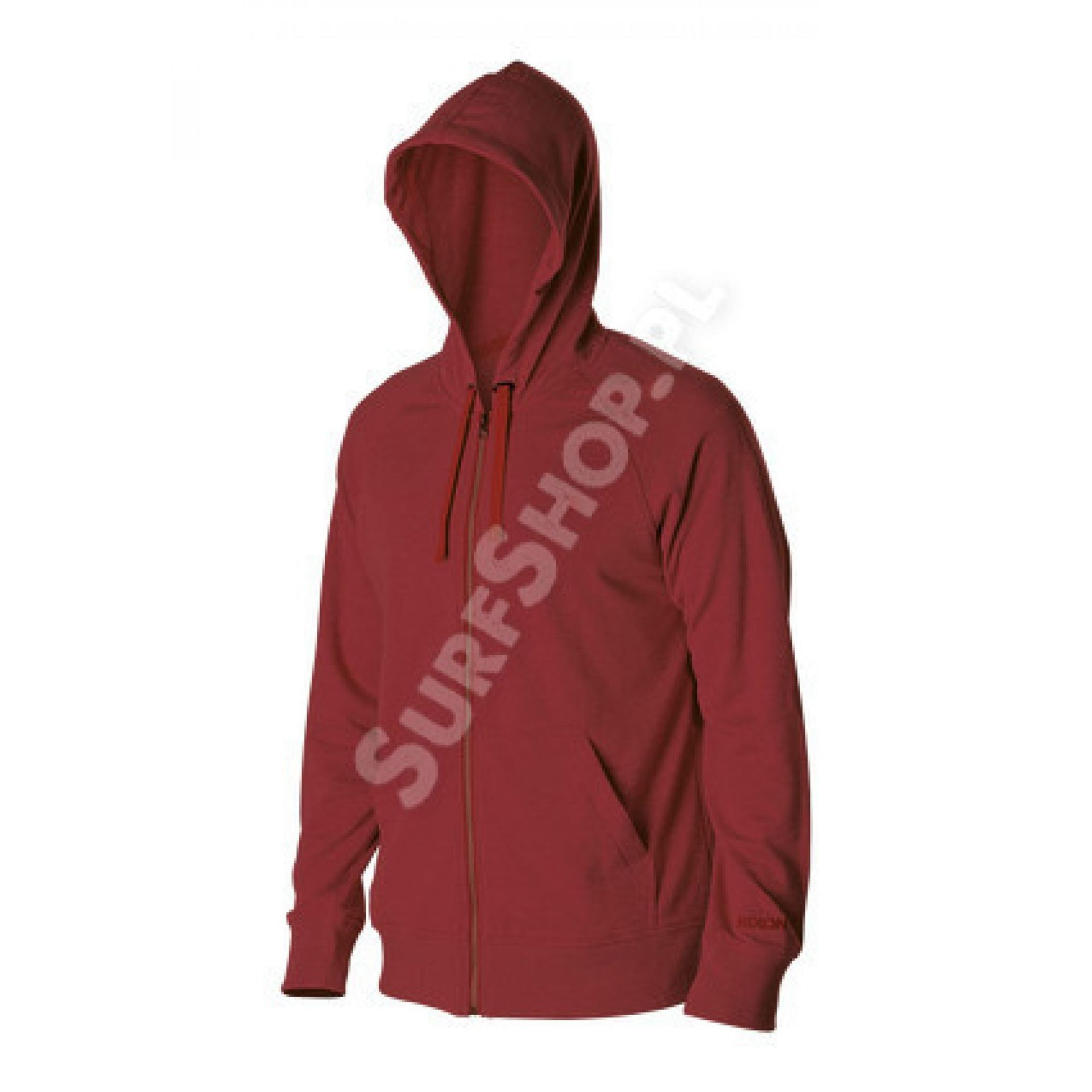 Bluza Nixon Identity Zip Hood czerwony