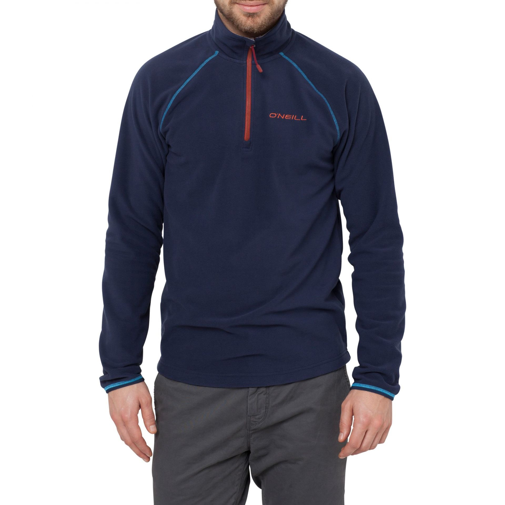 BLUZA ONEILL 1 2 ZIP FLEECE INK BLUE