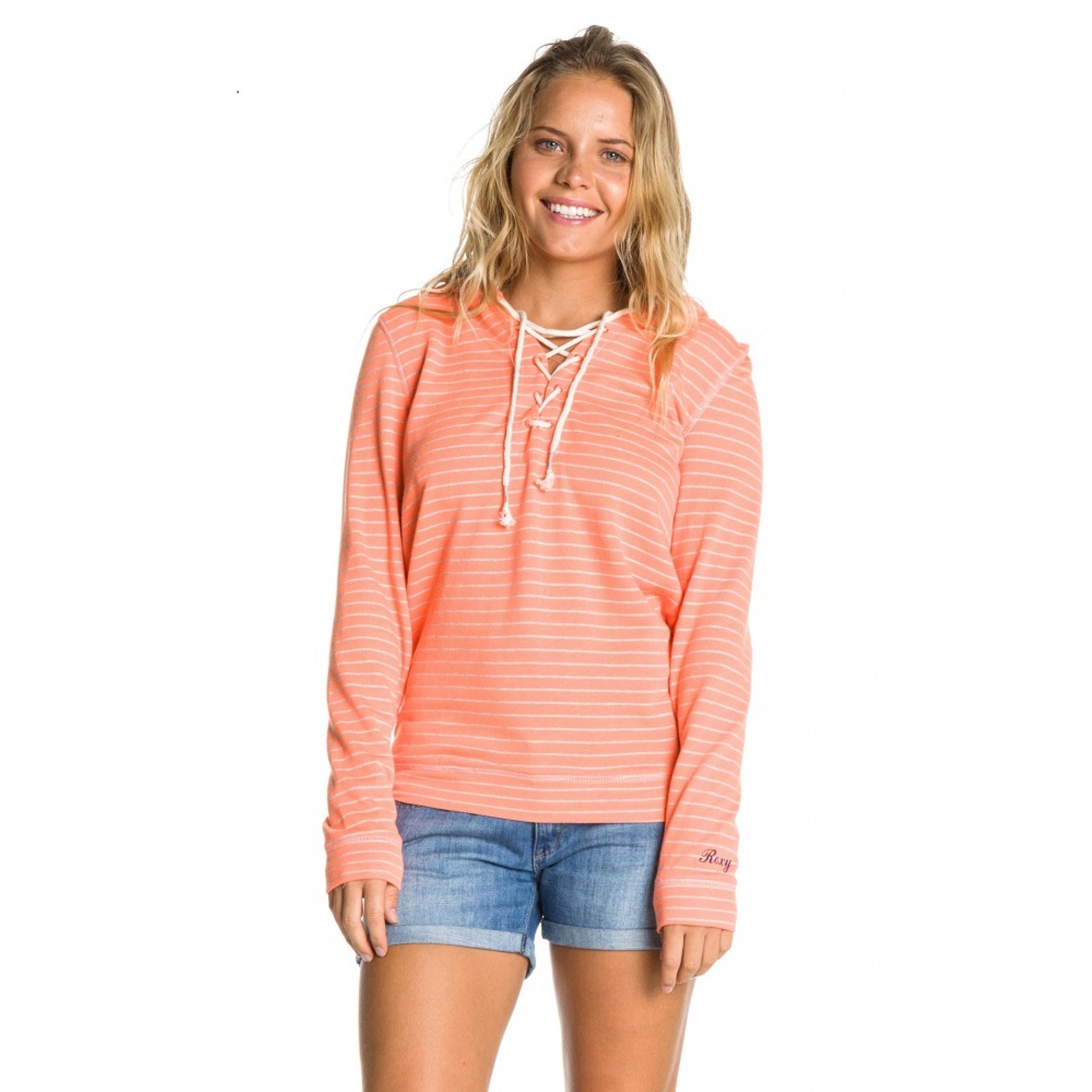 Bluza Roxy Beach Party Fleece pomarańczowa