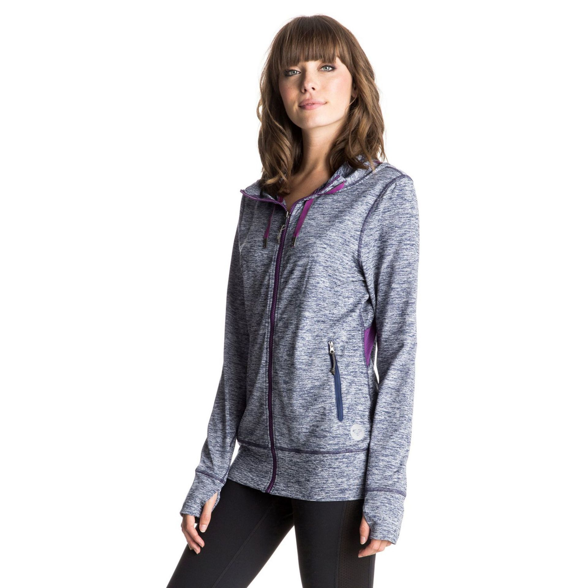BLUZA ROXY EZ DOES IT ZIP-UP HOODIE BSQ0