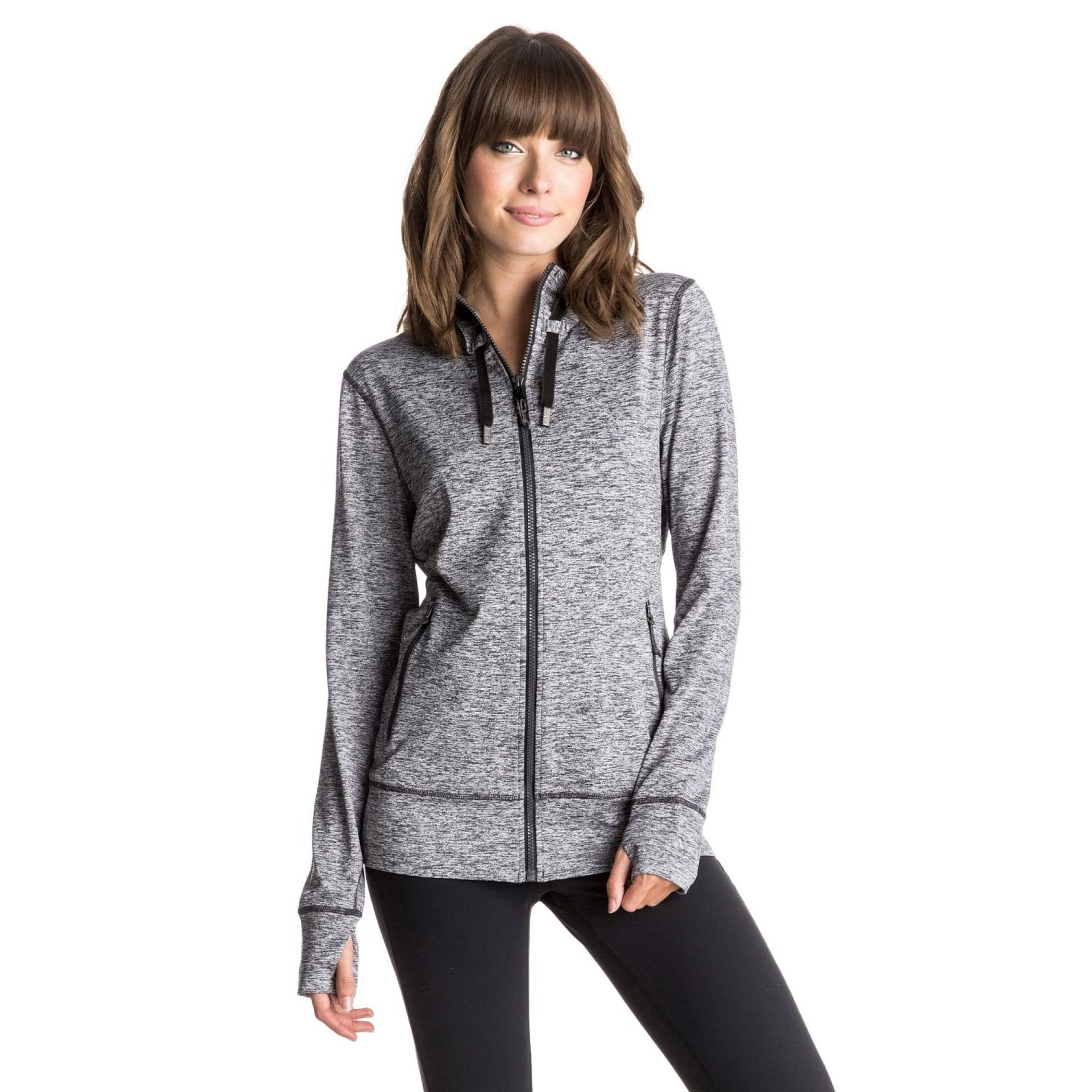 BLUZA ROXY EZ DOES IT ZIP-UP HOODIE KRY0 1
