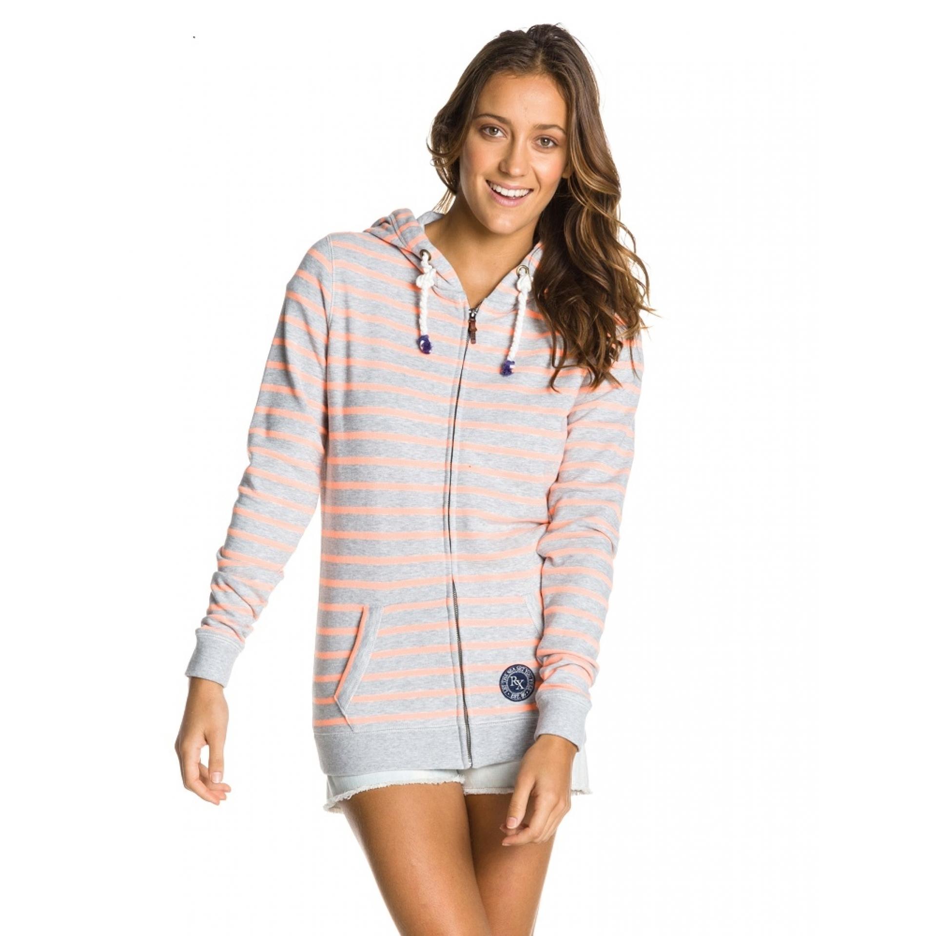 Bluza Roxy French Bay szaro różowa