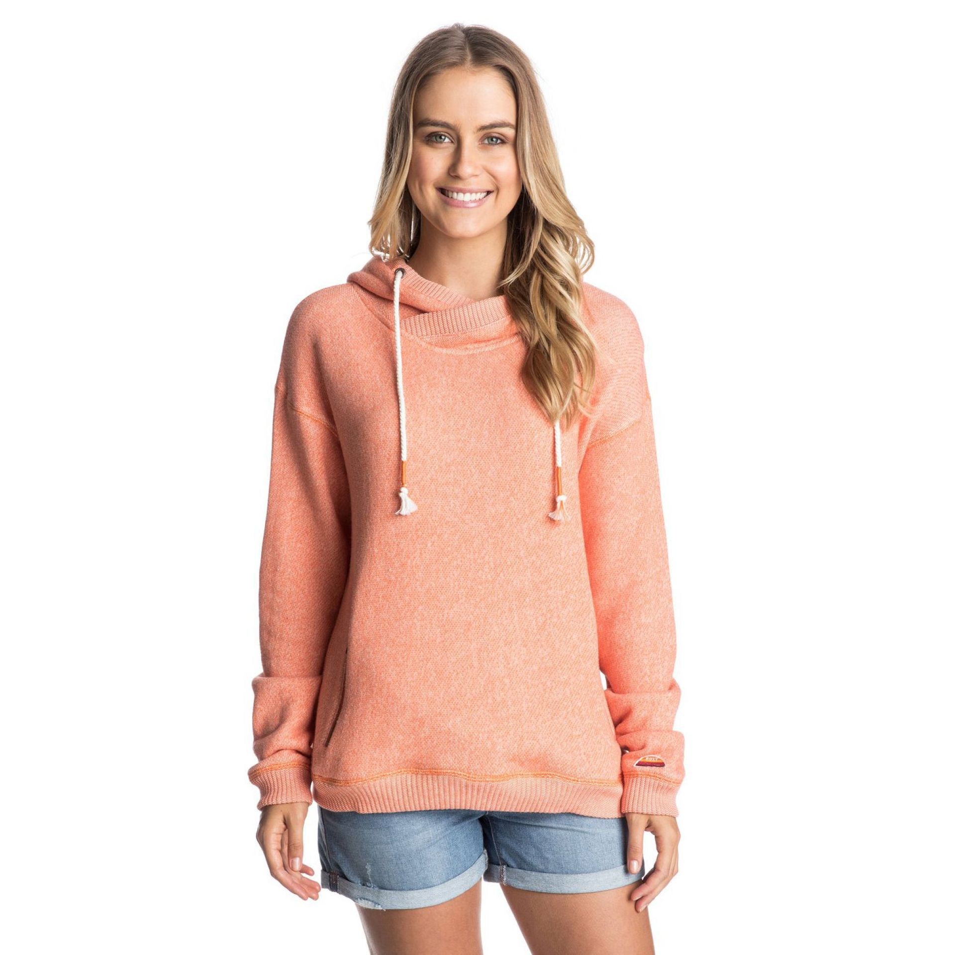 BLUZA ROXY GREAT VIBES PERSIMMON