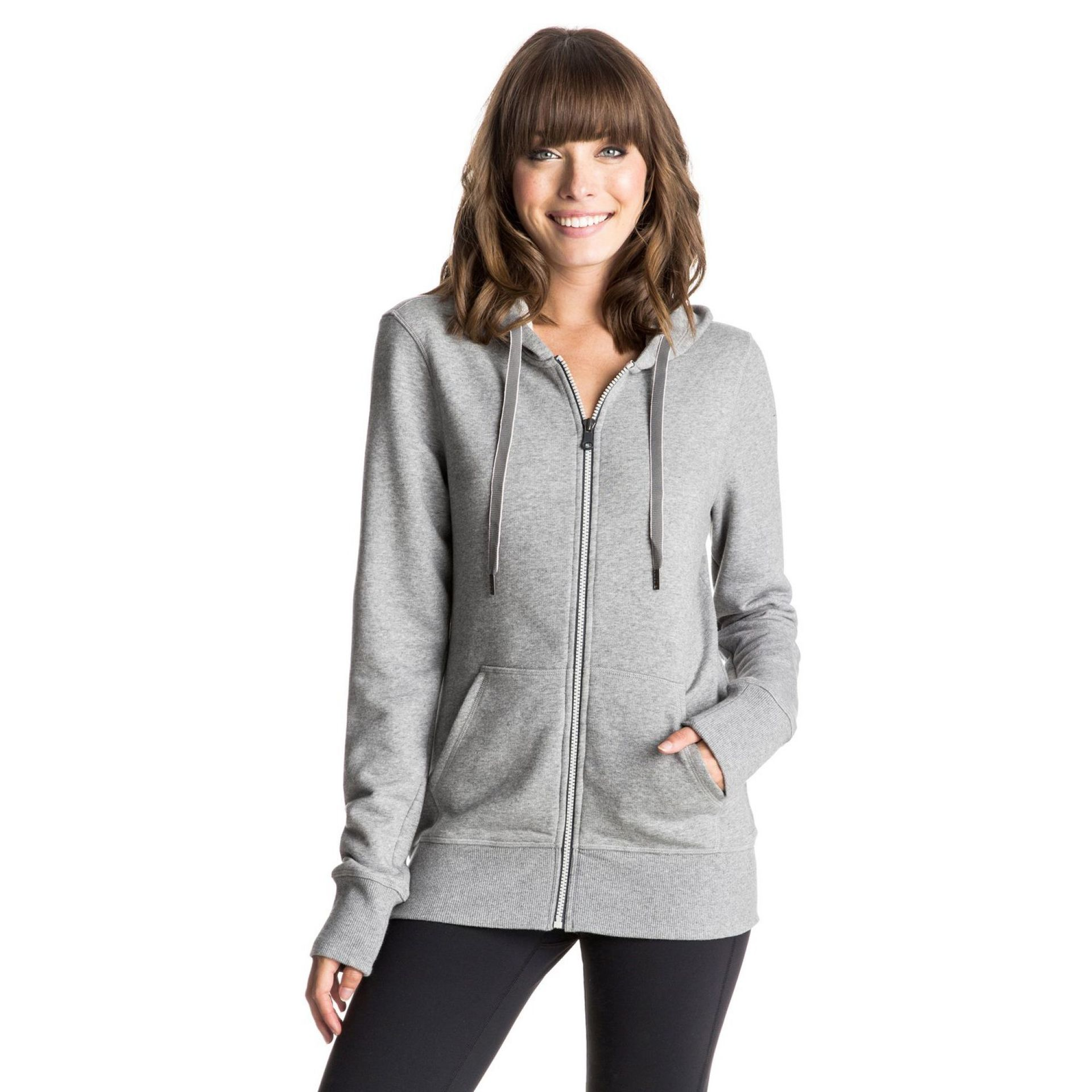 BLUZA ROXY THROW DOWN ZIP-UP HOODIE SGRH 3