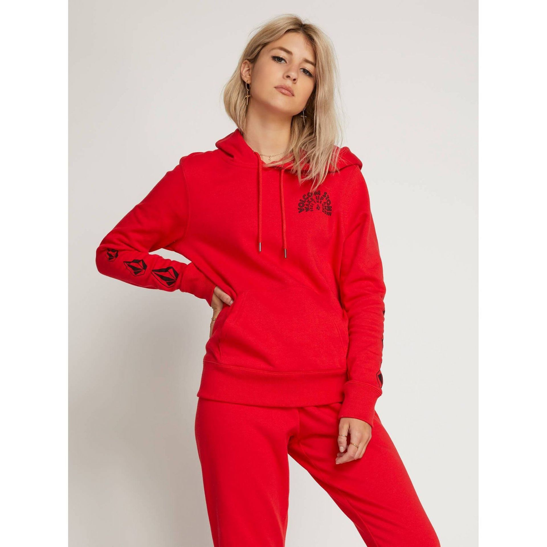 BLUZA VOLCOM VOL STONE B3111901-RED 1