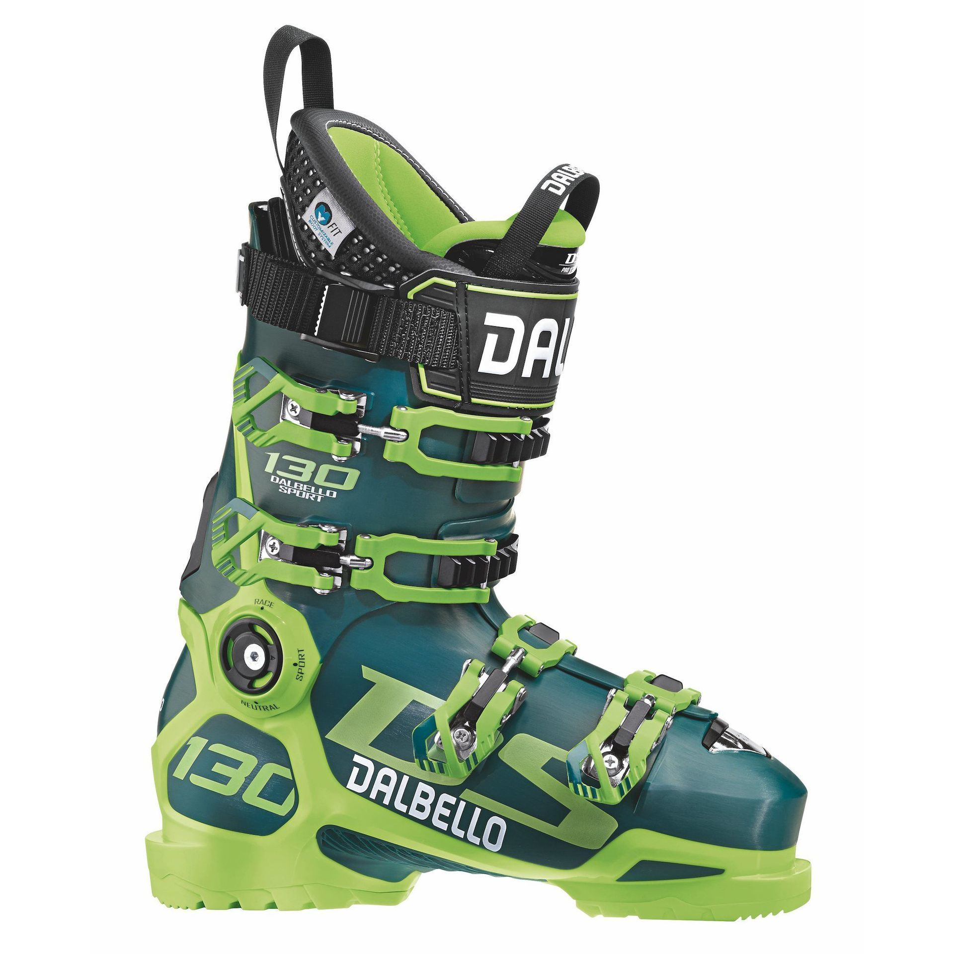 BUTY NARCIARSKIE DALBELLO DS 130 PETROL|LIME D1803001-00