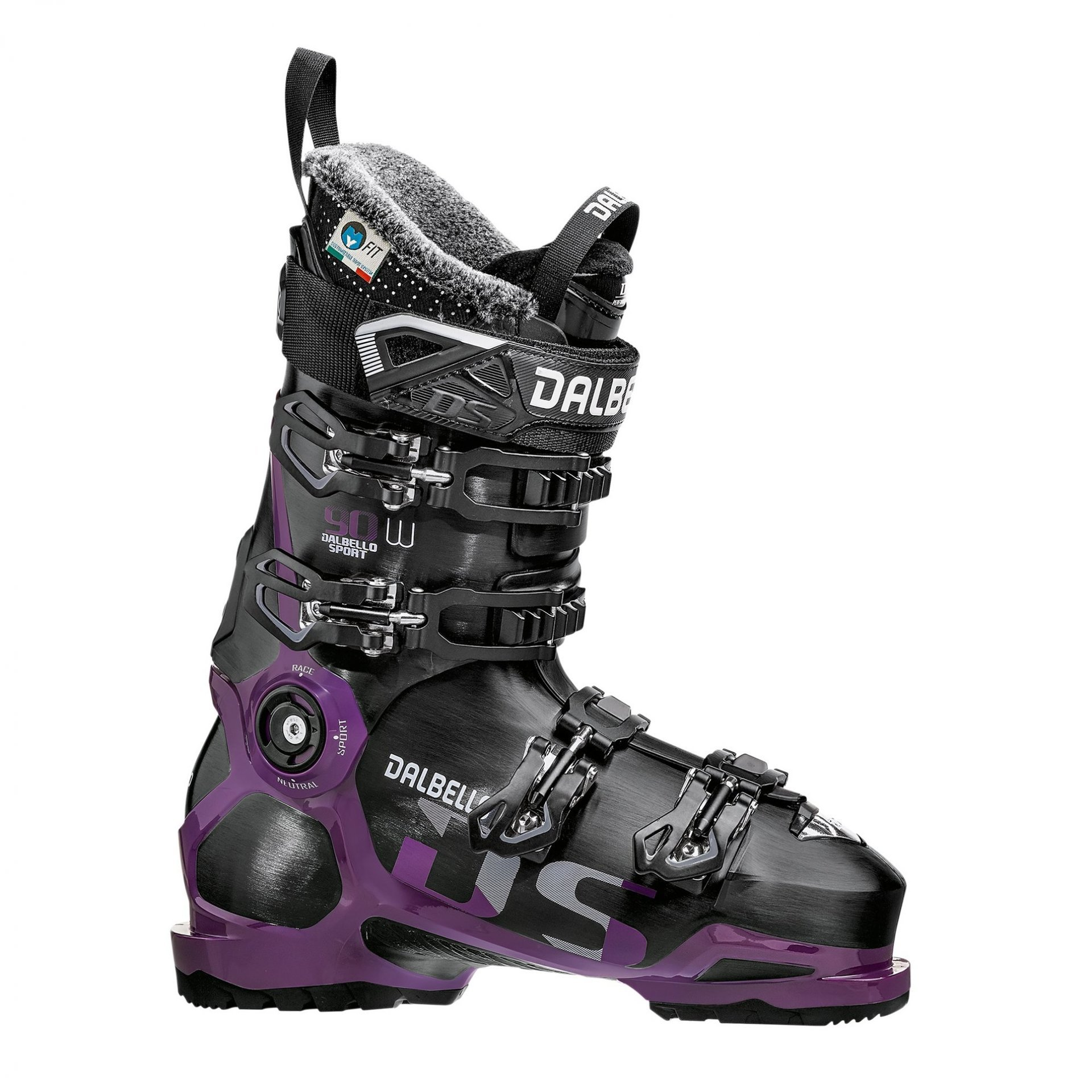 BUTY NARCIARSKIE DALBELLO DS 90 W BLACK|GRAPE