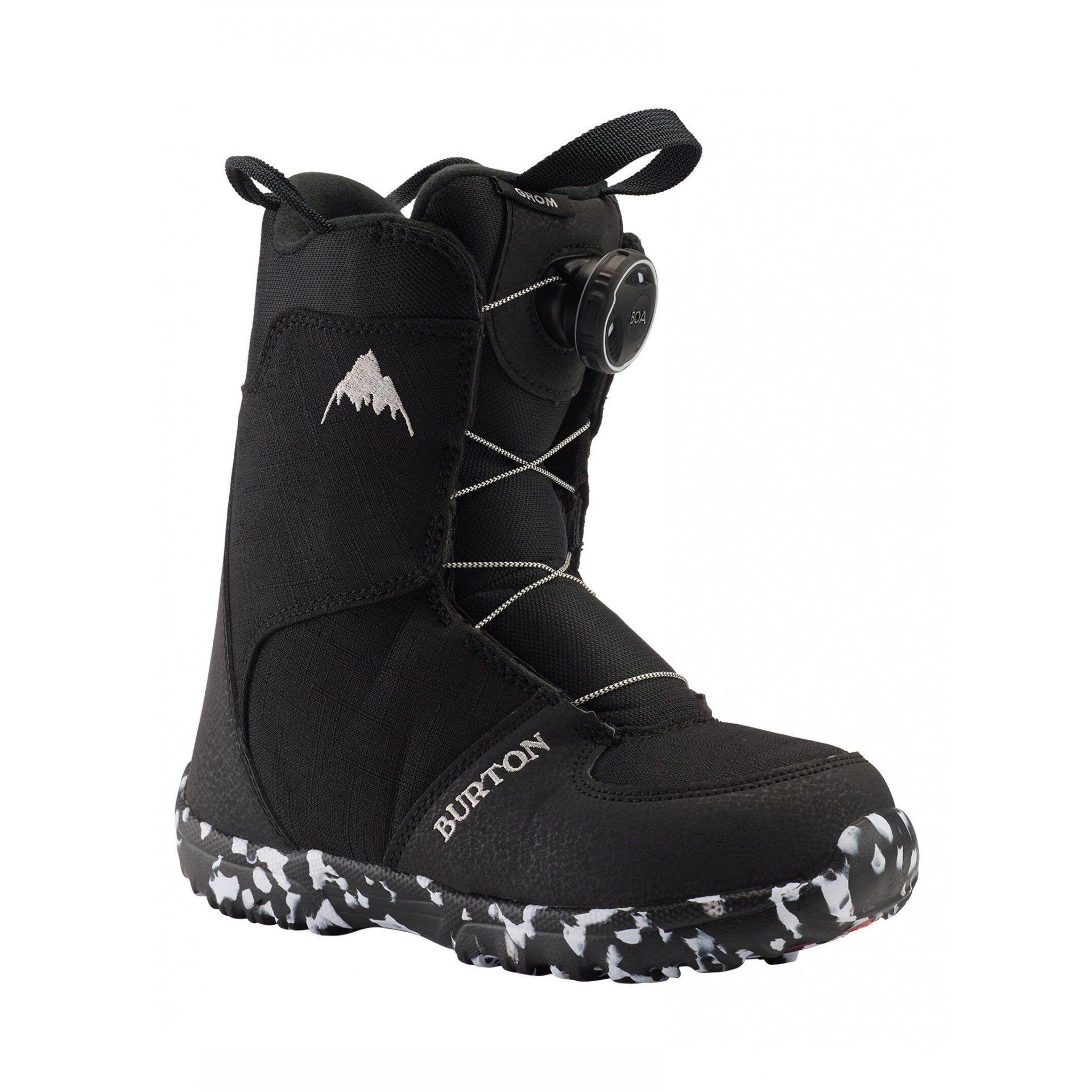 Buty Snowboardowe Burton Grom Boa 2020 Czarny Snowshop Pl