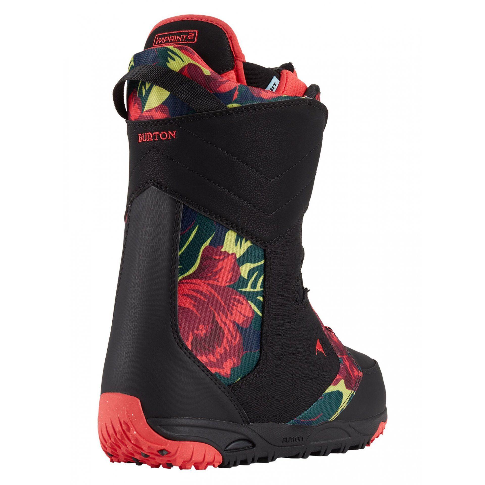 BUTY SNOWBOARDOWE BURTON LIMELIGHT BOA 150871-002 BLACK FLORAL 2