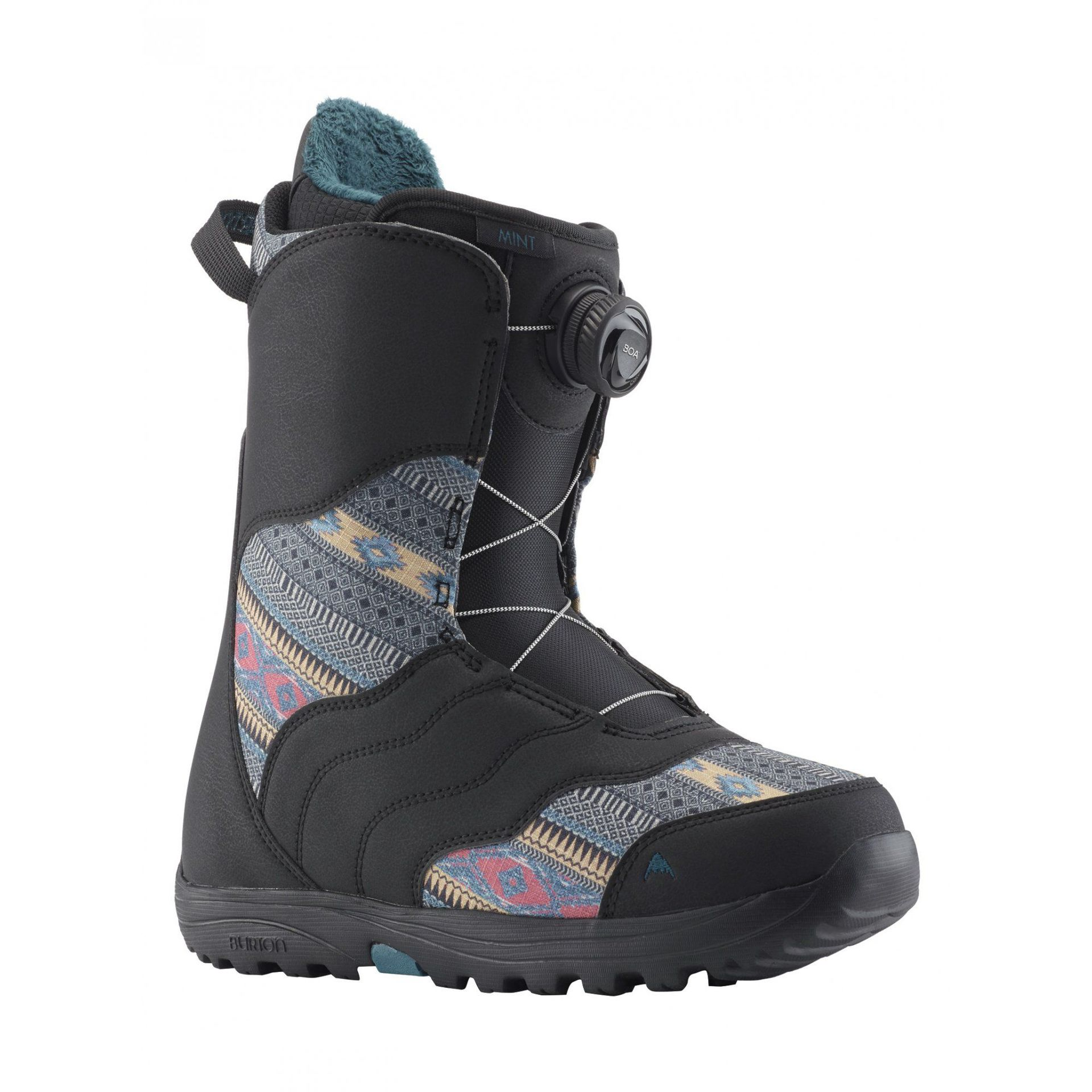 BUTY SNOWBOARDOWE BURTON MINT BOA BLACK MULTI 131771-022 1