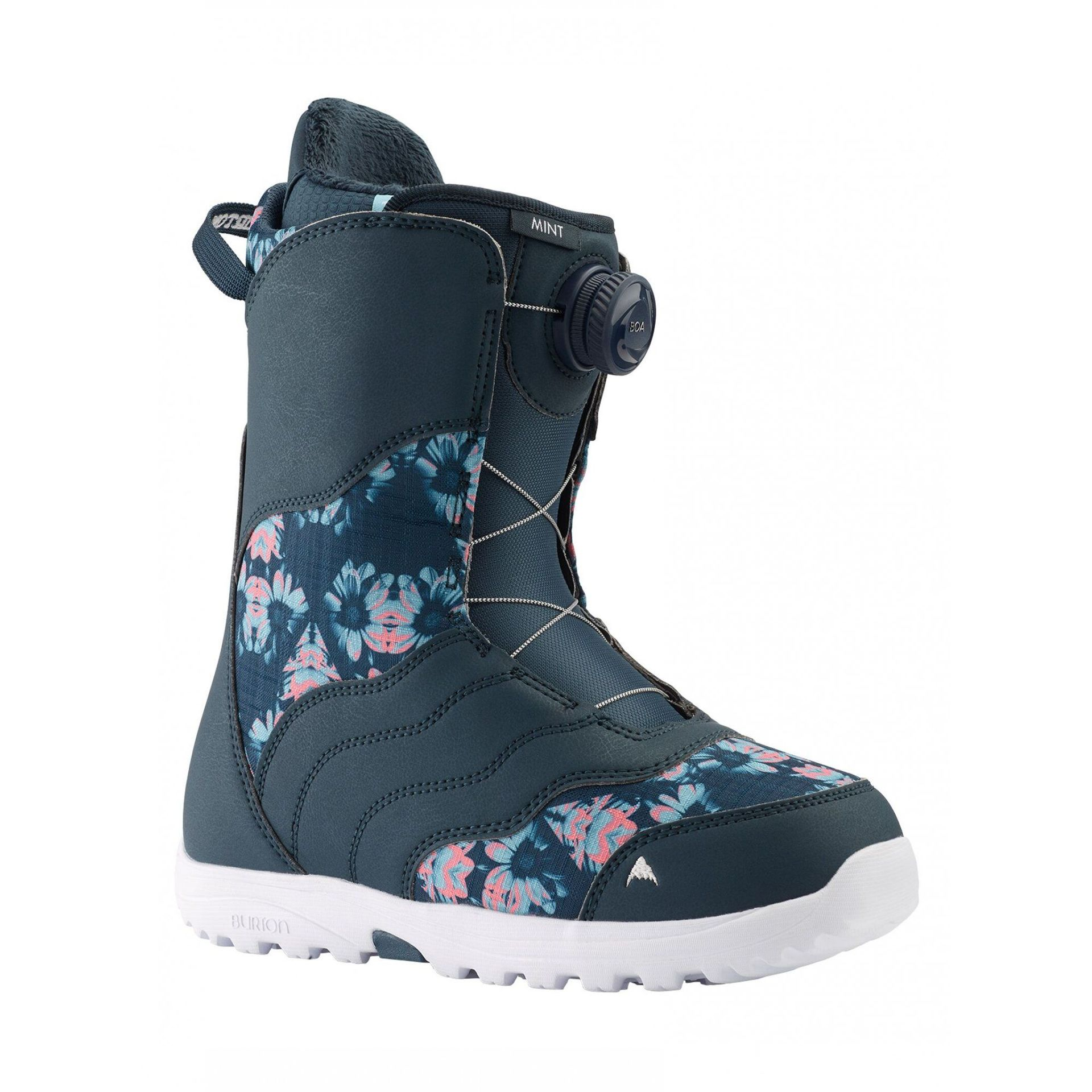 BUTY SNOWBOARDOWE BURTON MINT BOA MIDNITE BLUE|MULTI 131771-423 1