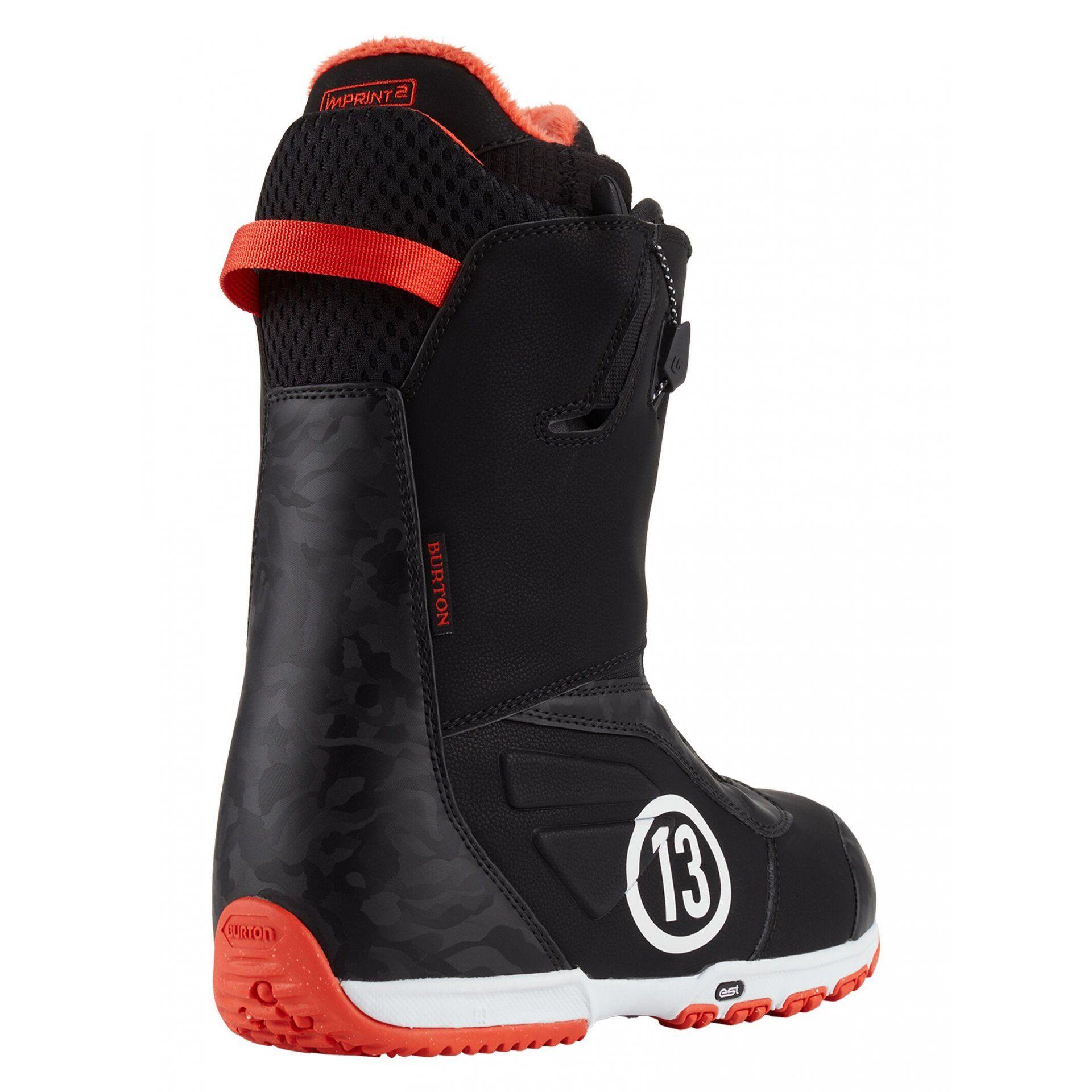 BUTY SNOWBOARDOWE BURTON RULER 104391-020 BLACK RED 2
