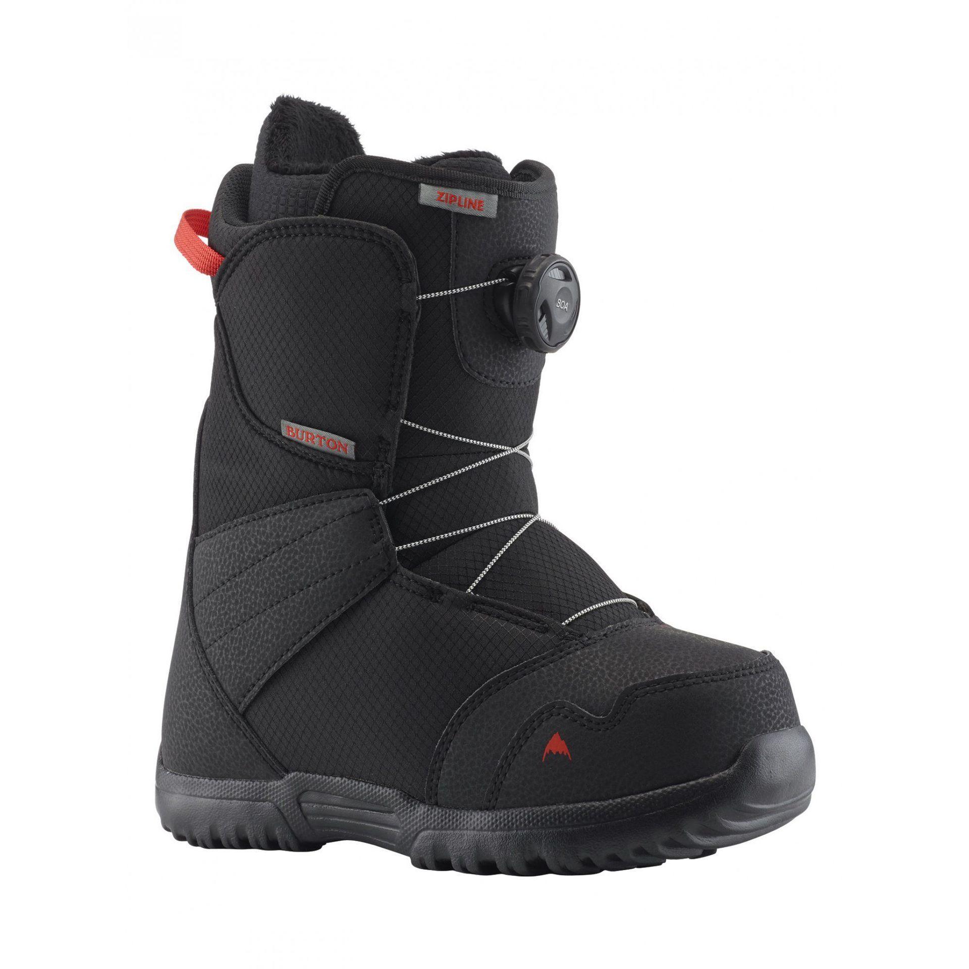 BUTY SNOWBOARDOWE BURTON ZIPLINE BOA BLACK 131911-001 1