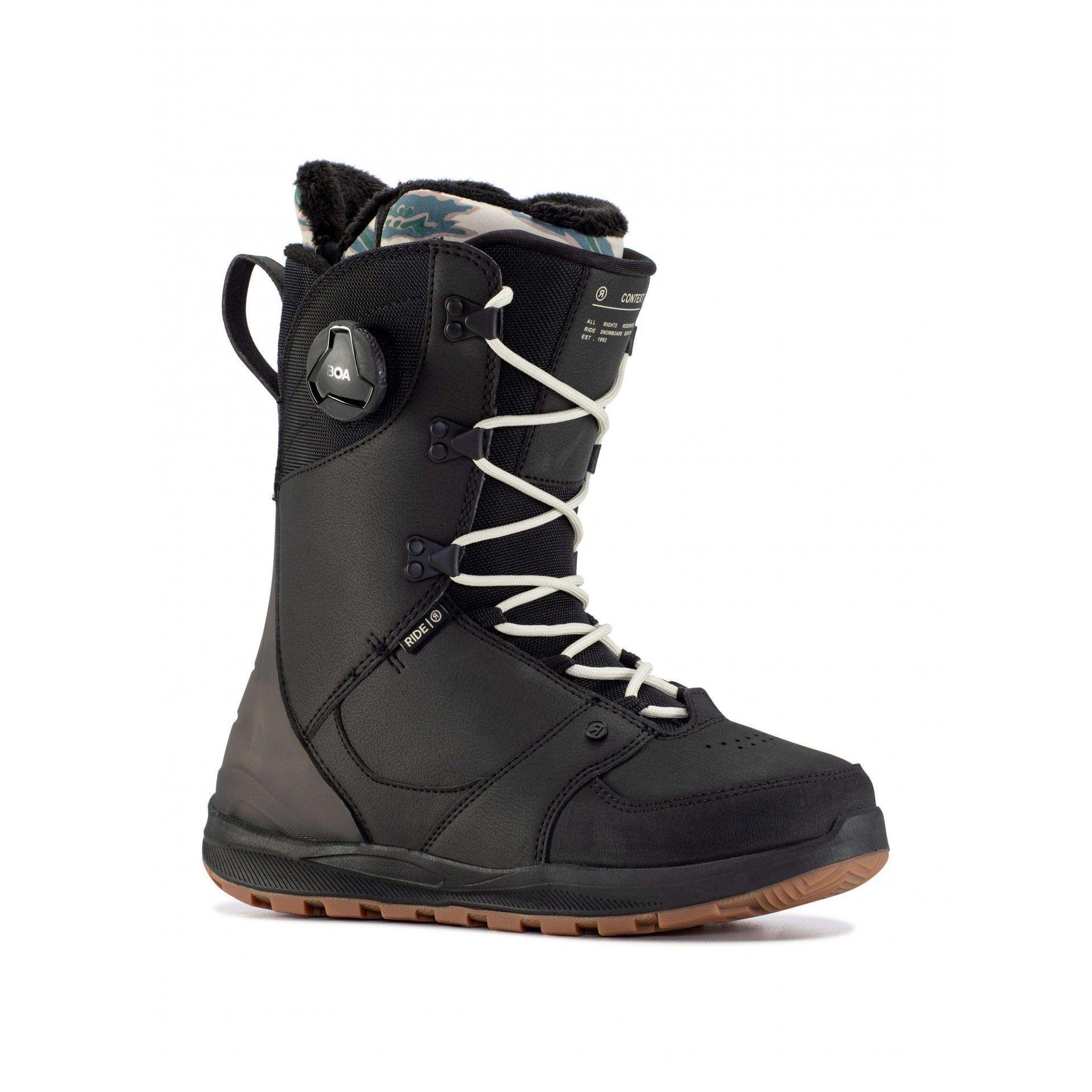 BUTY SNOWBOARDOWE RIDE CONTEXT 104153 BLACK 1
