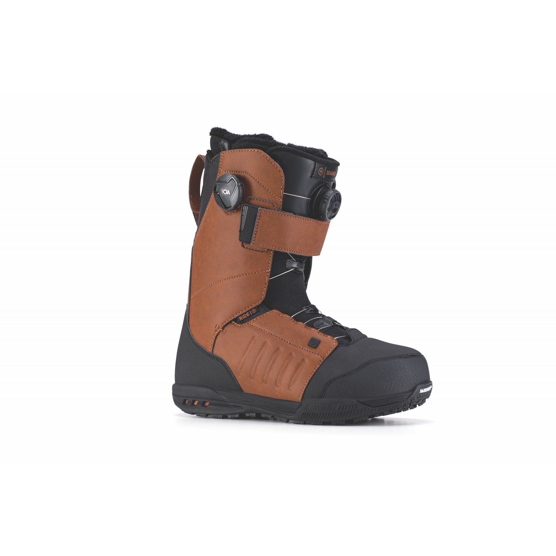 BUTY SNOWBOARDOWE RIDE DEADBOLT BROWN