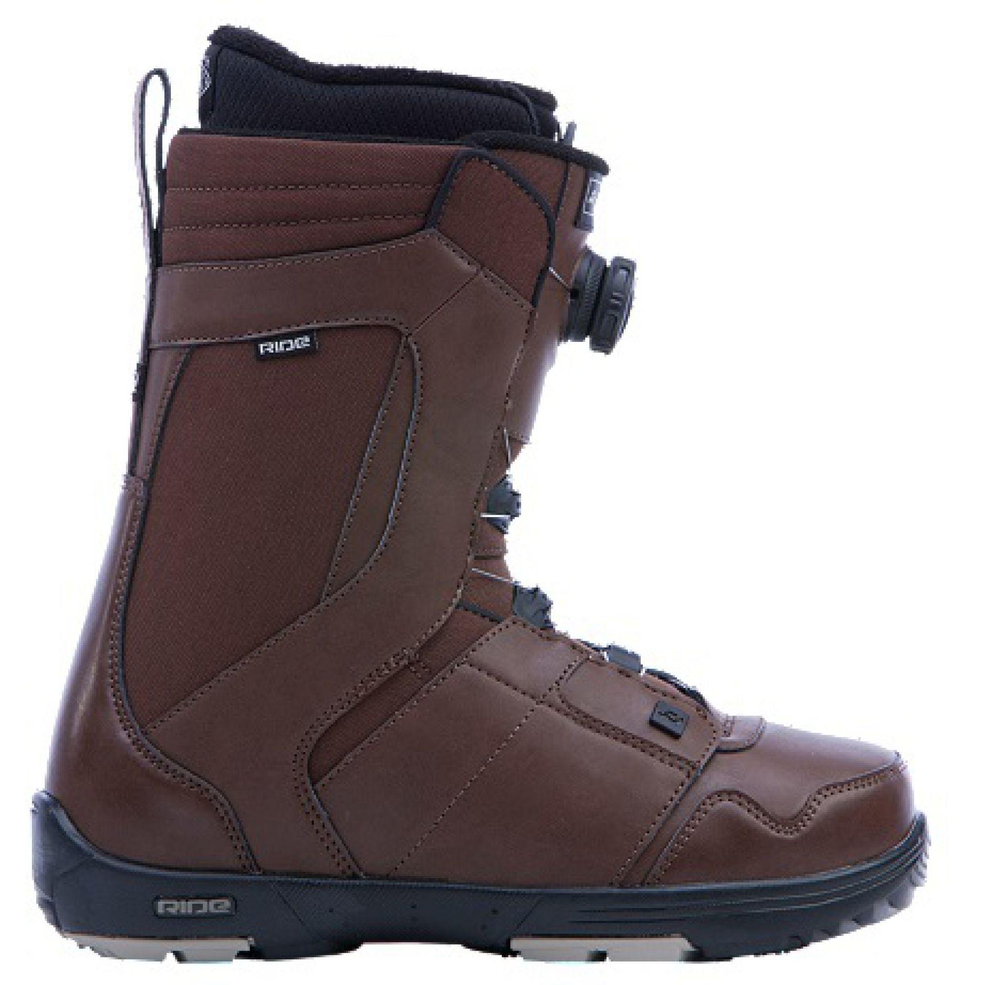 Buty snowboardowe Ride Jackson brązowy