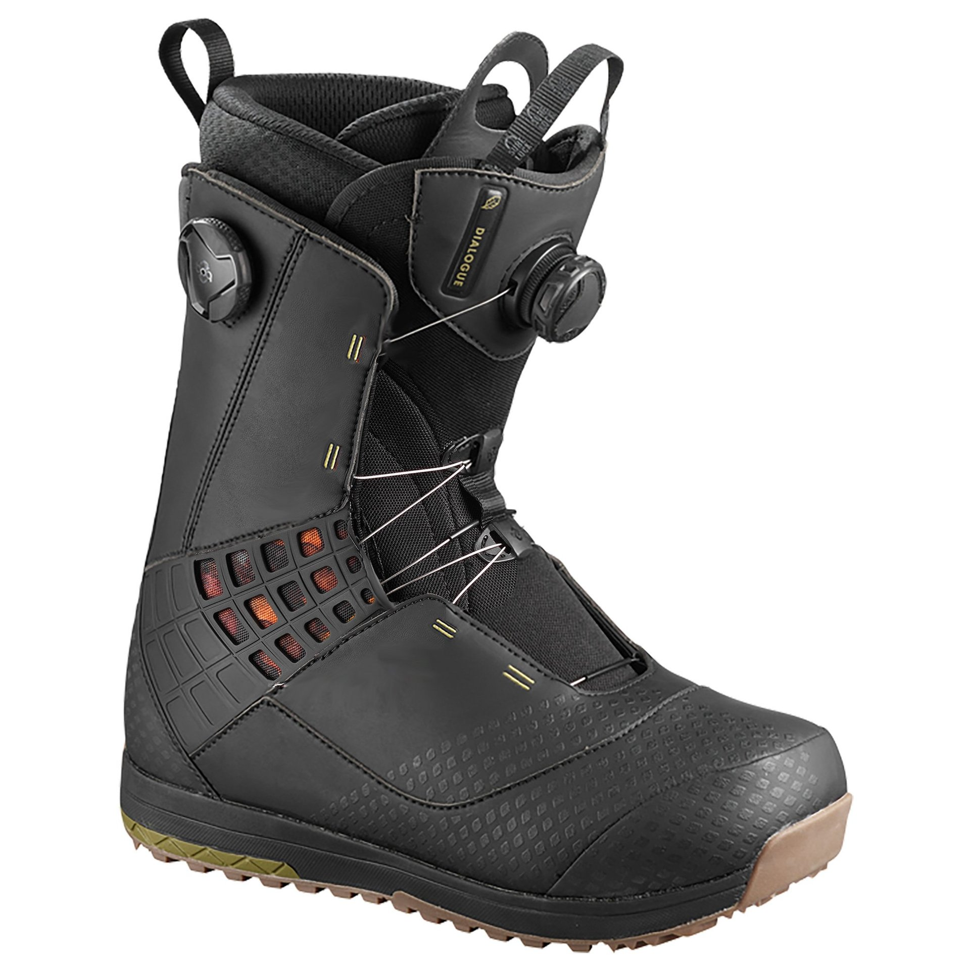 BUTY SNOWBOARDOWE SALOMON DIALOGUE FOCUS BOA 405102 BLACK 1