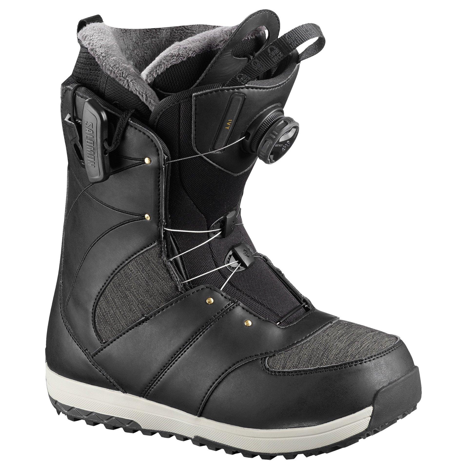 BUTY SNOWBOARDOWE SALOMON IVY BOA SJ BLACK 1