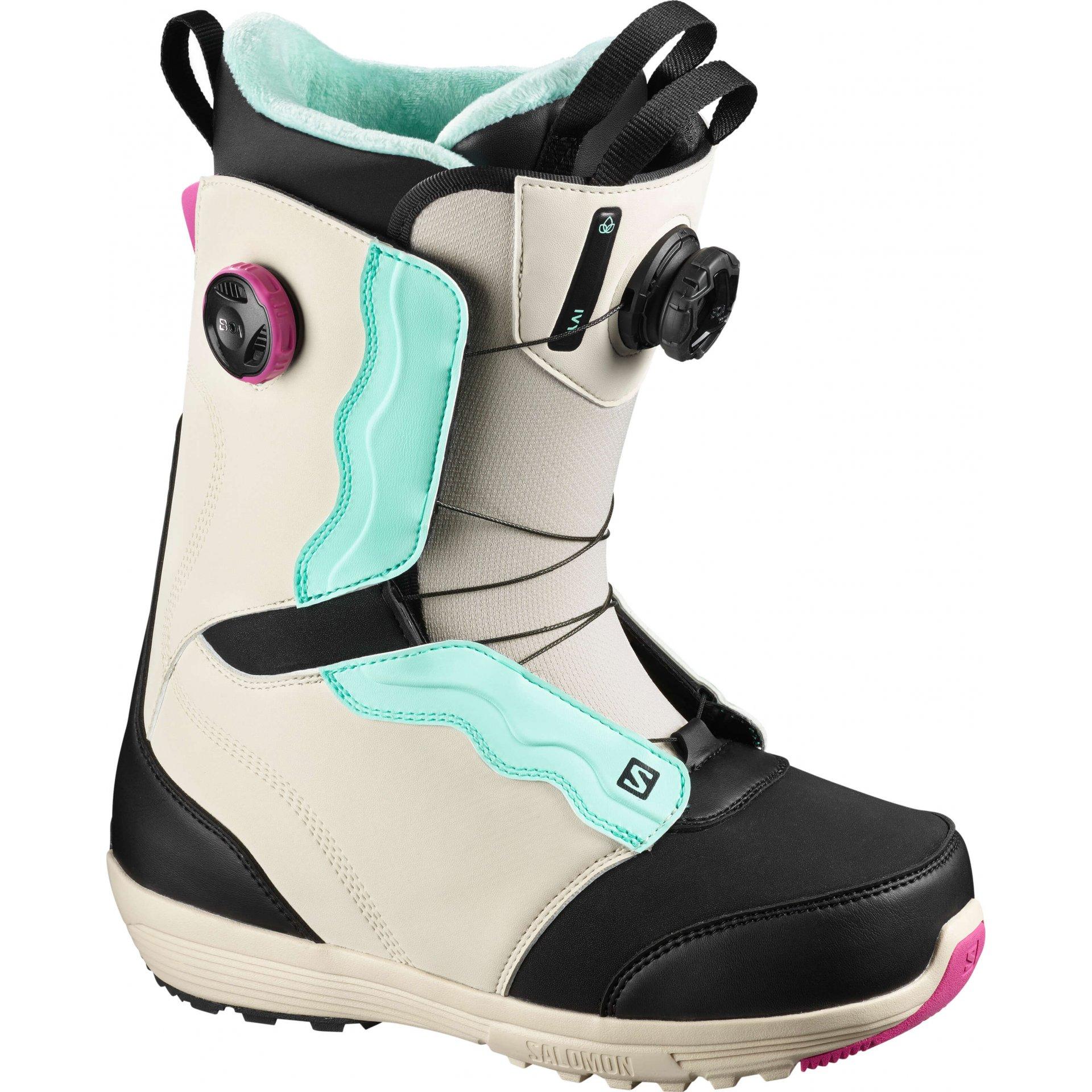 Buty Snowboardowe Salomon Ivy Boa Sj 2021 Wielokolorowy W Snowshop Pl