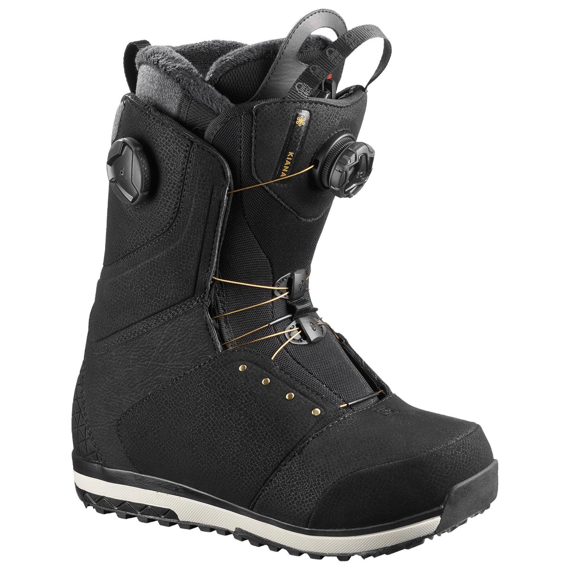 BUTY SNOWBOARDOWE SALOMON KIANA FOCUS BOA 402864 BLACK 1