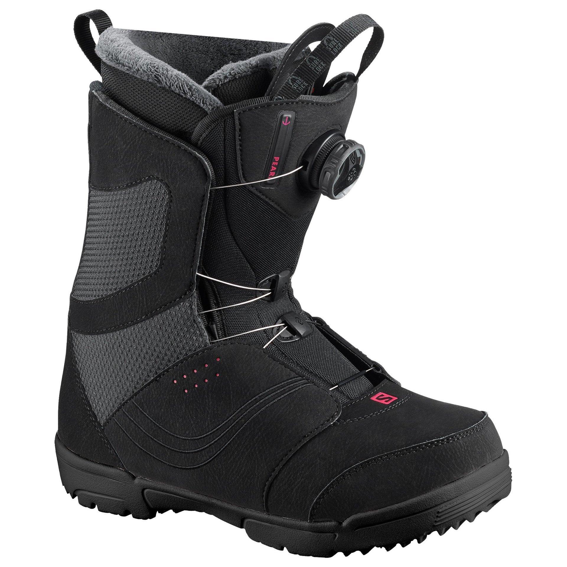 BUTY SNOWBOARDOWE SALOMON PEARL BOA 404373 BLACK 1