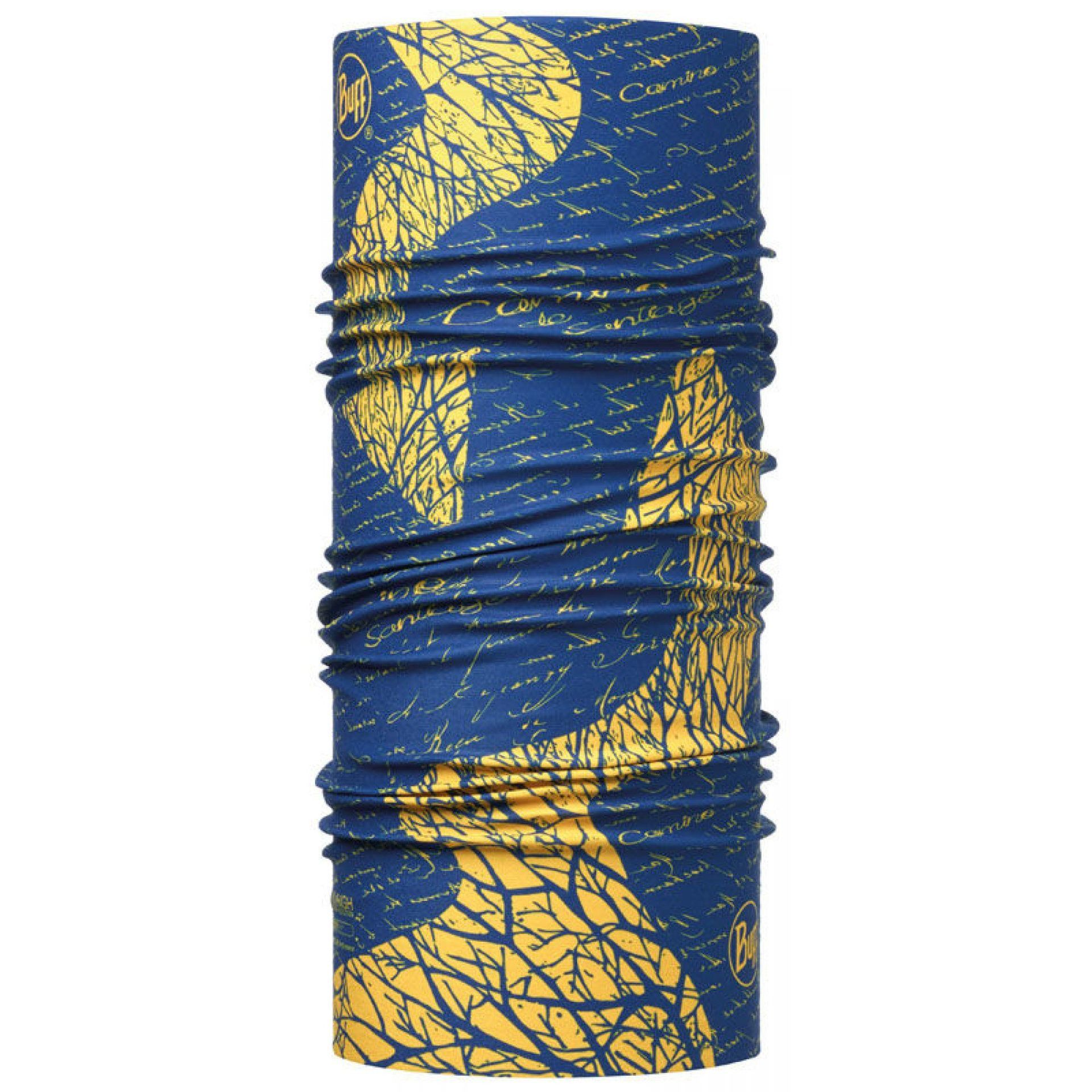CHUSTA BUFF HIGH UV PROTECTION CAMINO DE SANTIAGO SIGNAL ROYAL BLUE