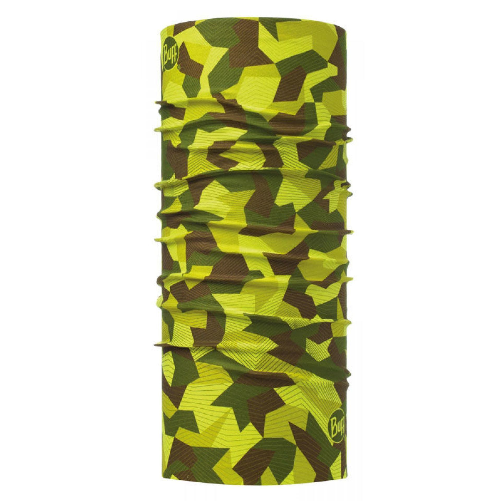 CHUSTA BUFF ORIGINAL BLOCK CAMO GREEN