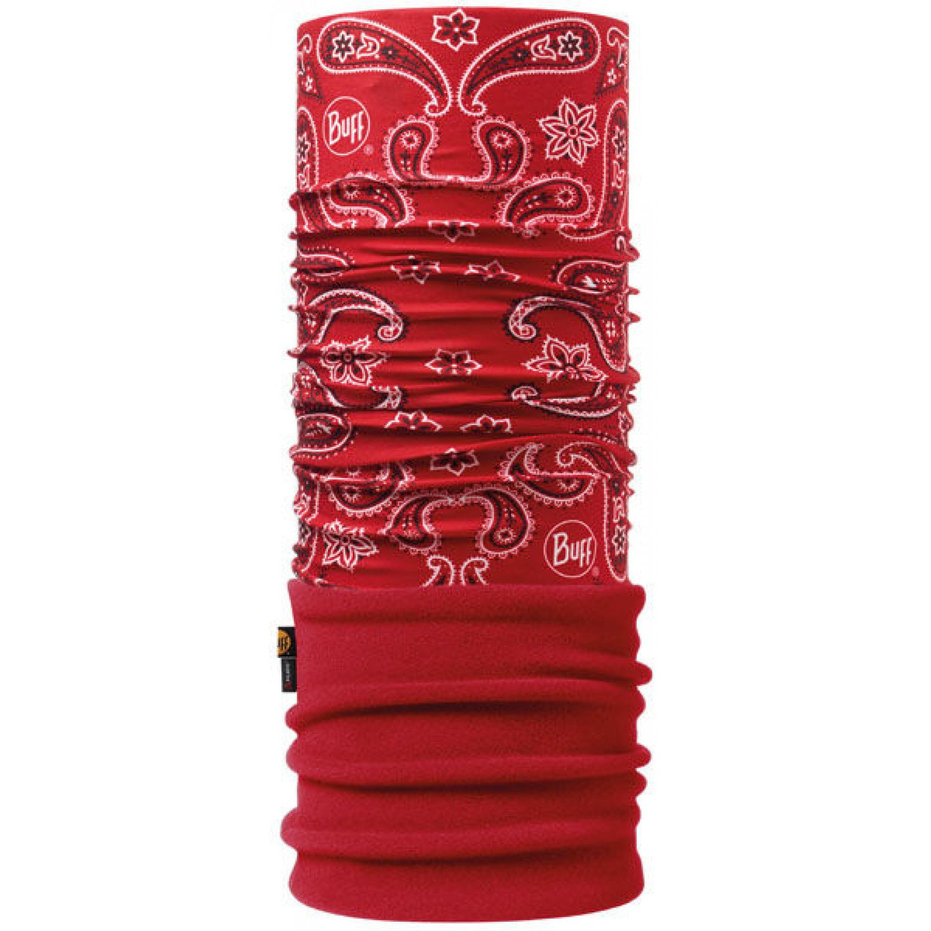 CHUSTA BUFF POLAR CASHMERE RED