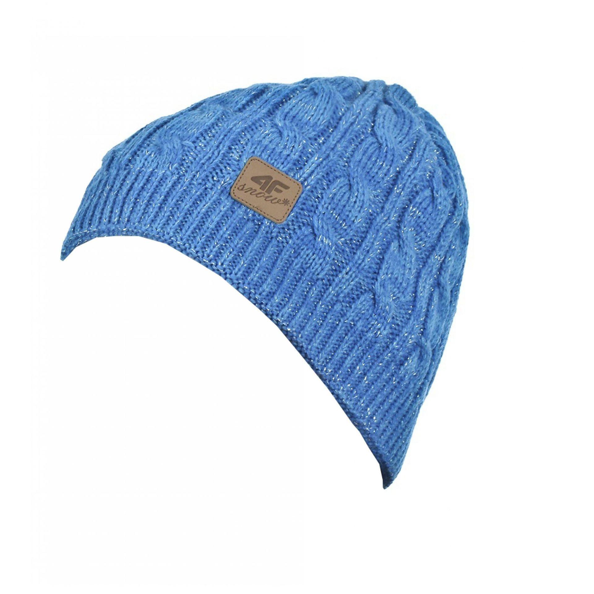 Czapka 4F CAD004 niebieska 0