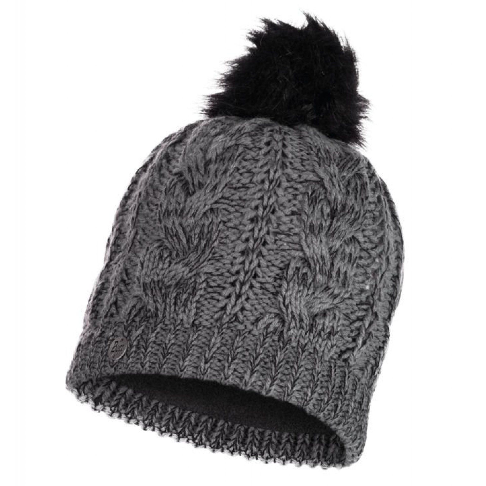 CZAPKA BUFF KNITTED AND FLEECE HAT DARLA GREY PEWTER