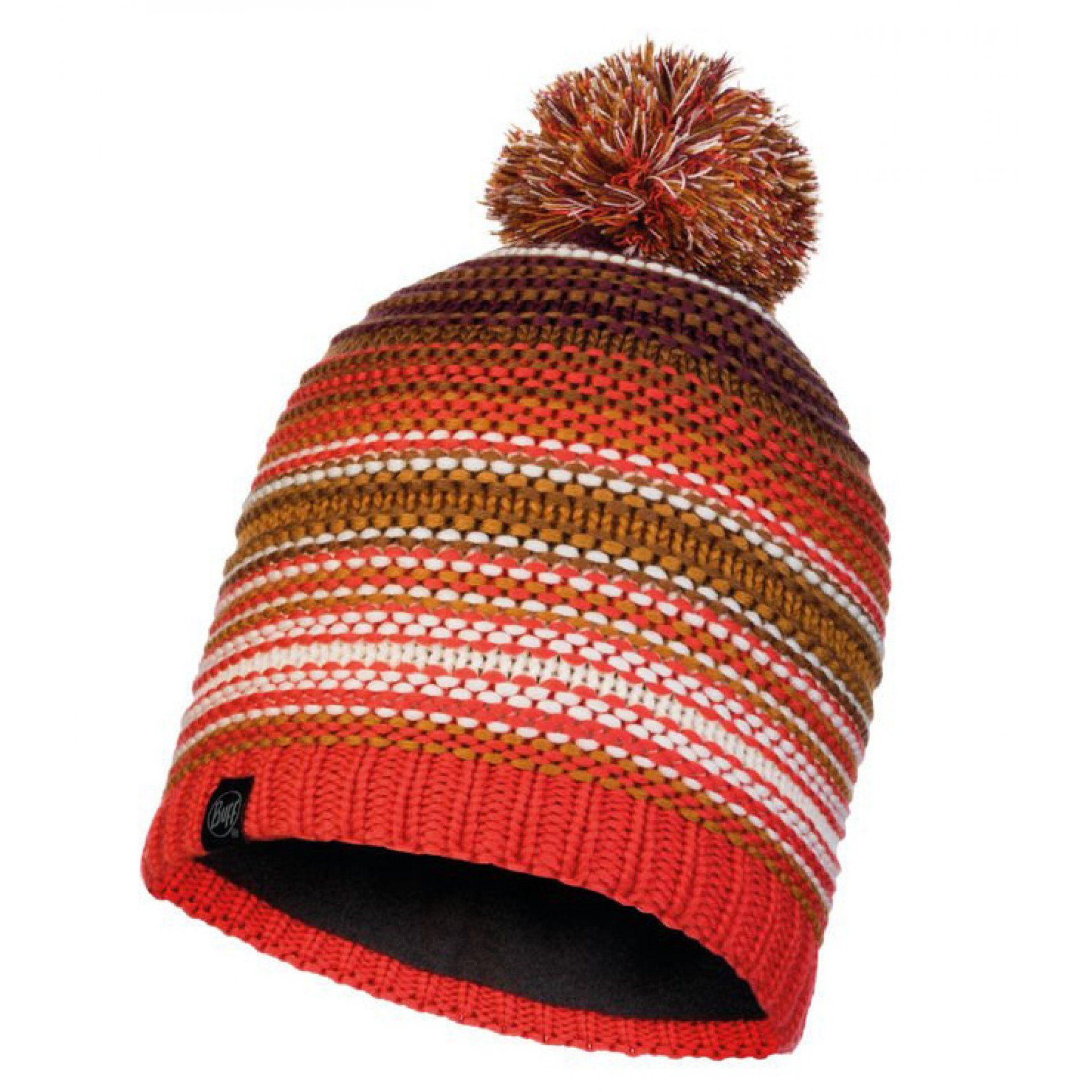 CZAPKA BUFF KNITTED AND FLEECE HAT NEPER MAROON