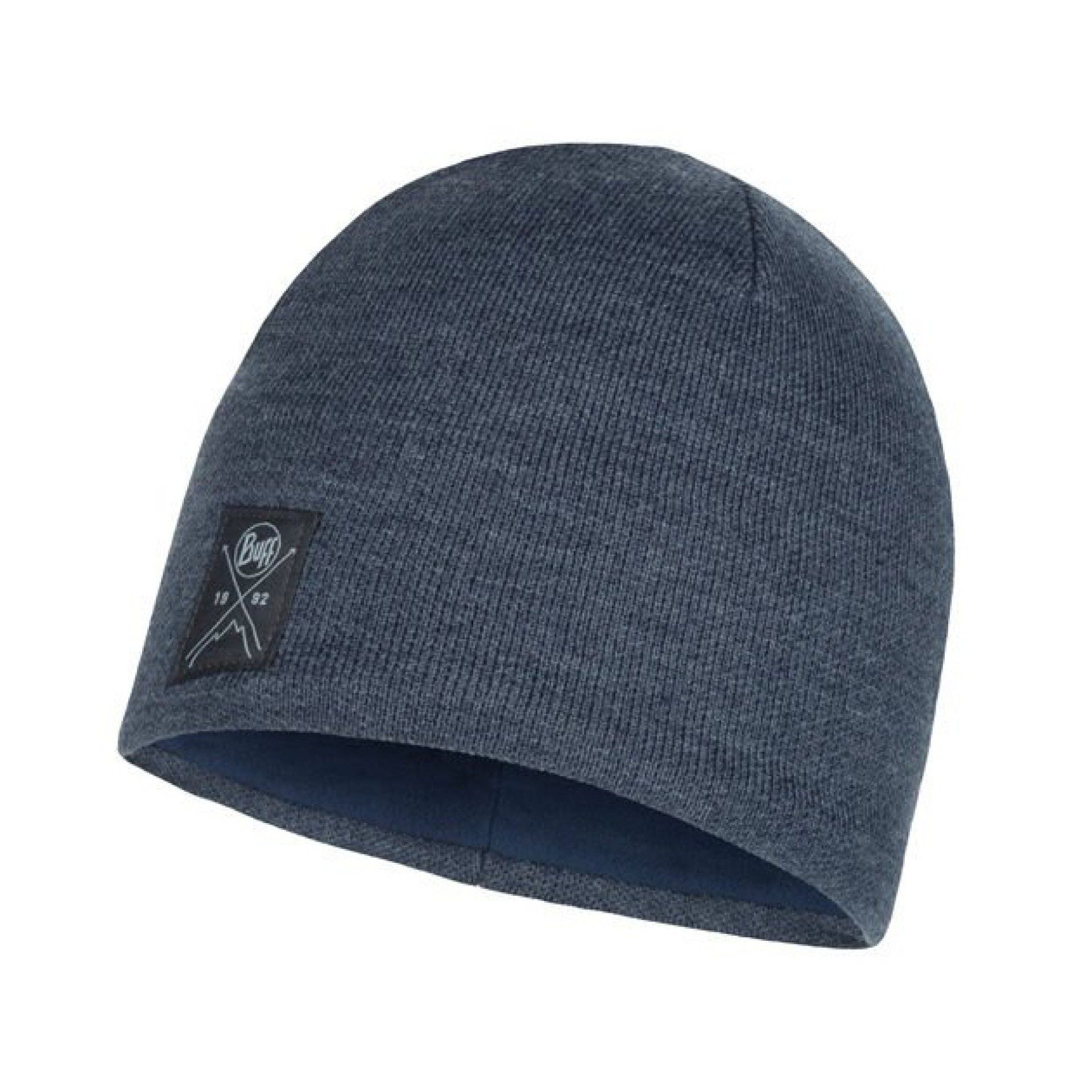 CZAPKA BUFF KNITTED AND FLEECE HAT SOLID NAVY