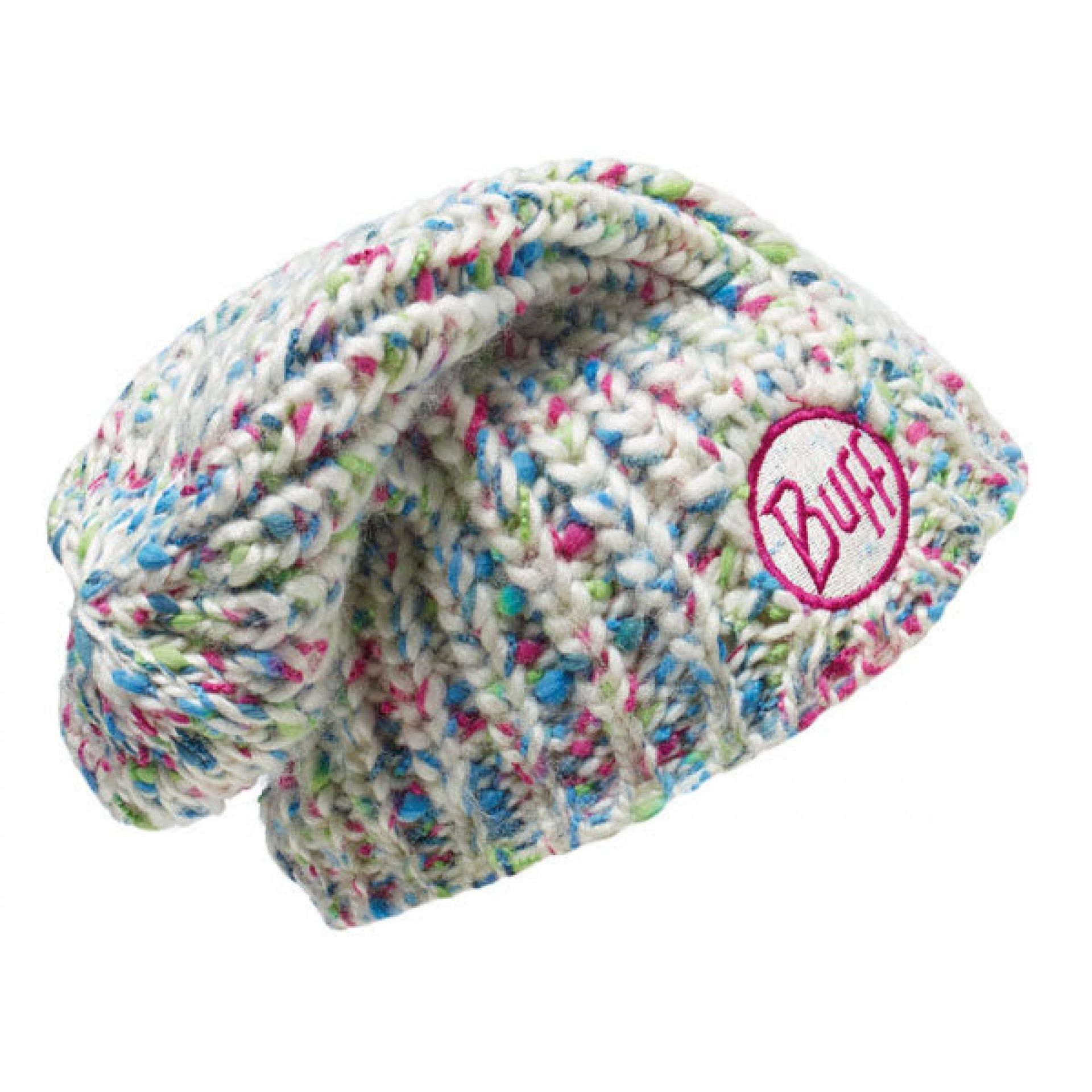 CZAPKA BUFF KNITTED HAT YSSIK STAR WHITE